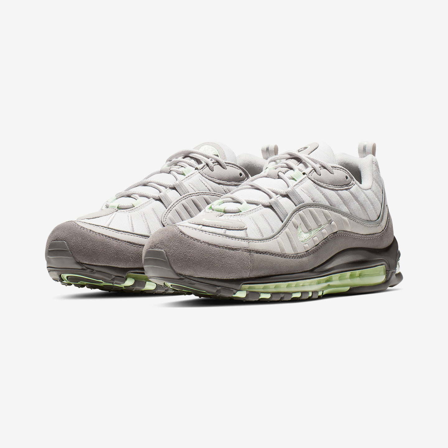 Nike Air Max 98 'Fresh Mint' Vast Grey / Fresh Mint / Atmosphere Grey 640744-011