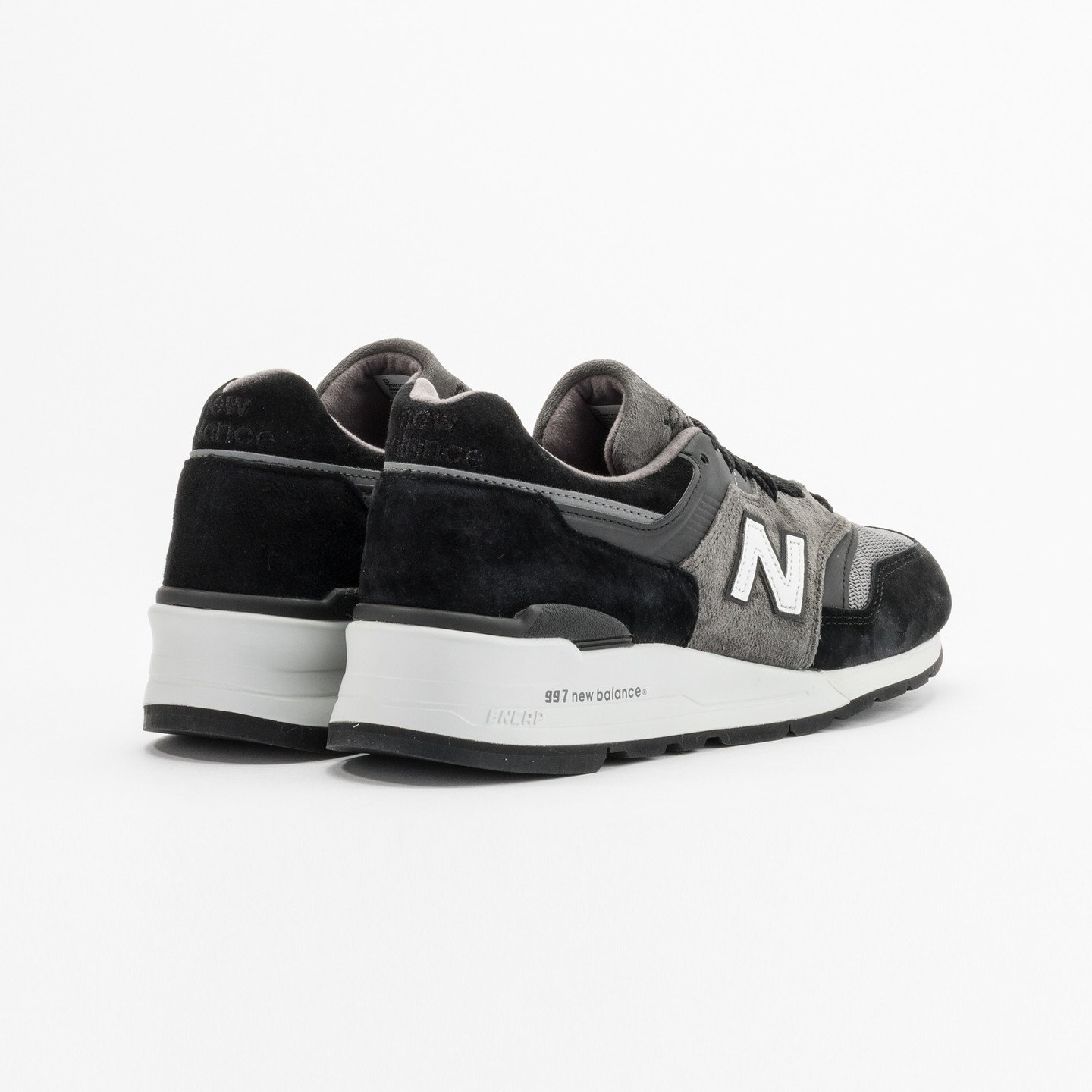 New Balance M997 Made in USA Grey / Black / White M997CUR-45