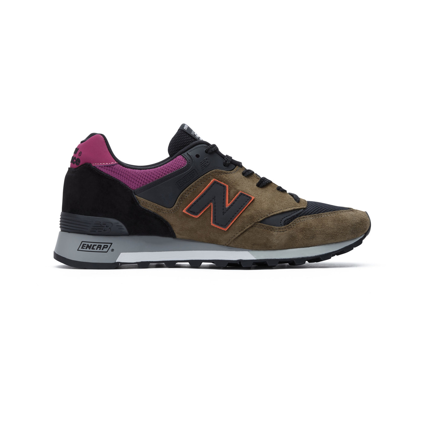 New Balance M577 KPO - Made in England Dark Olive / Orange / Plum M577KPO