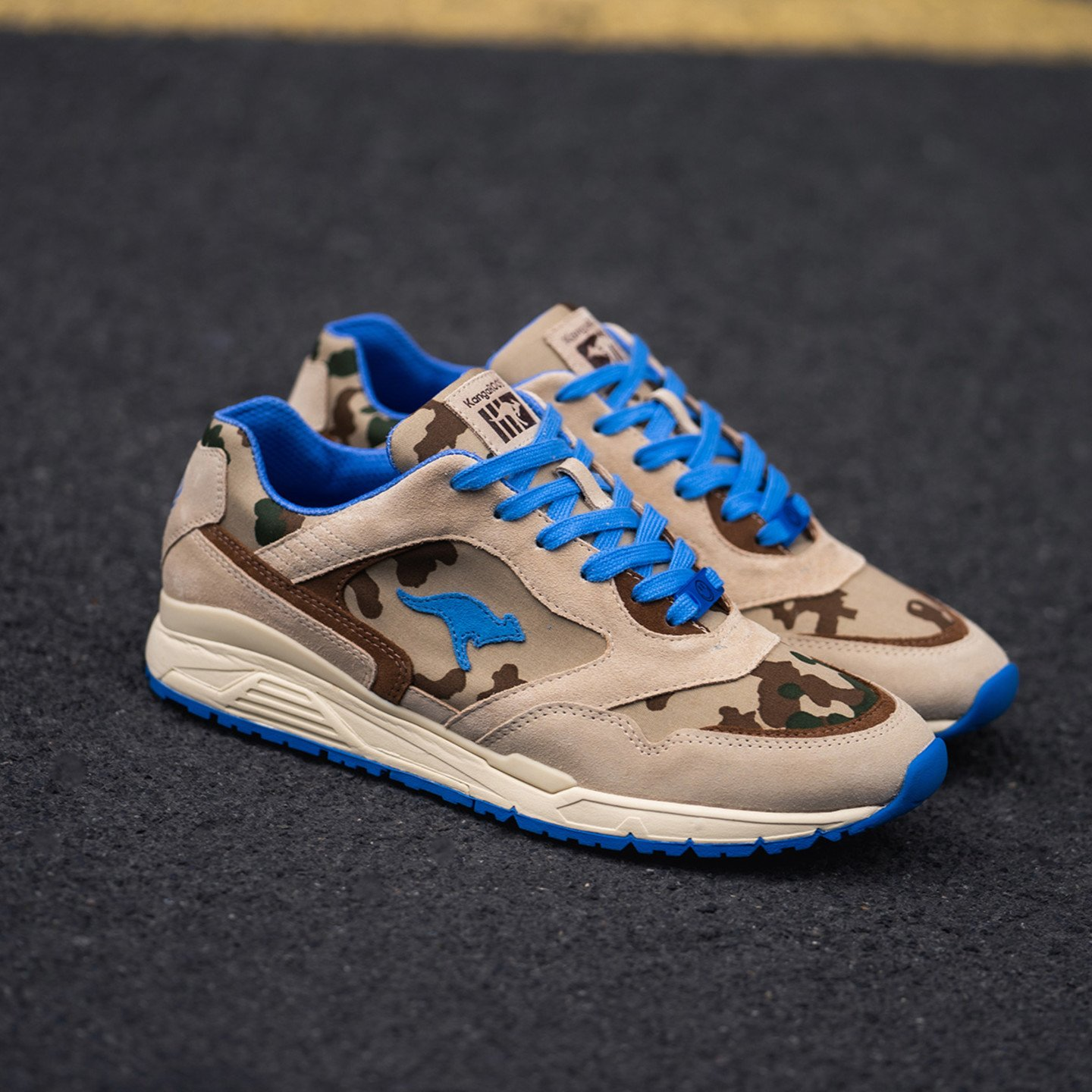 KangaROOS Ultimate 'Veteran Desert' - Made in Germany Desert Camo / UN Royal Blue 470V2-1170