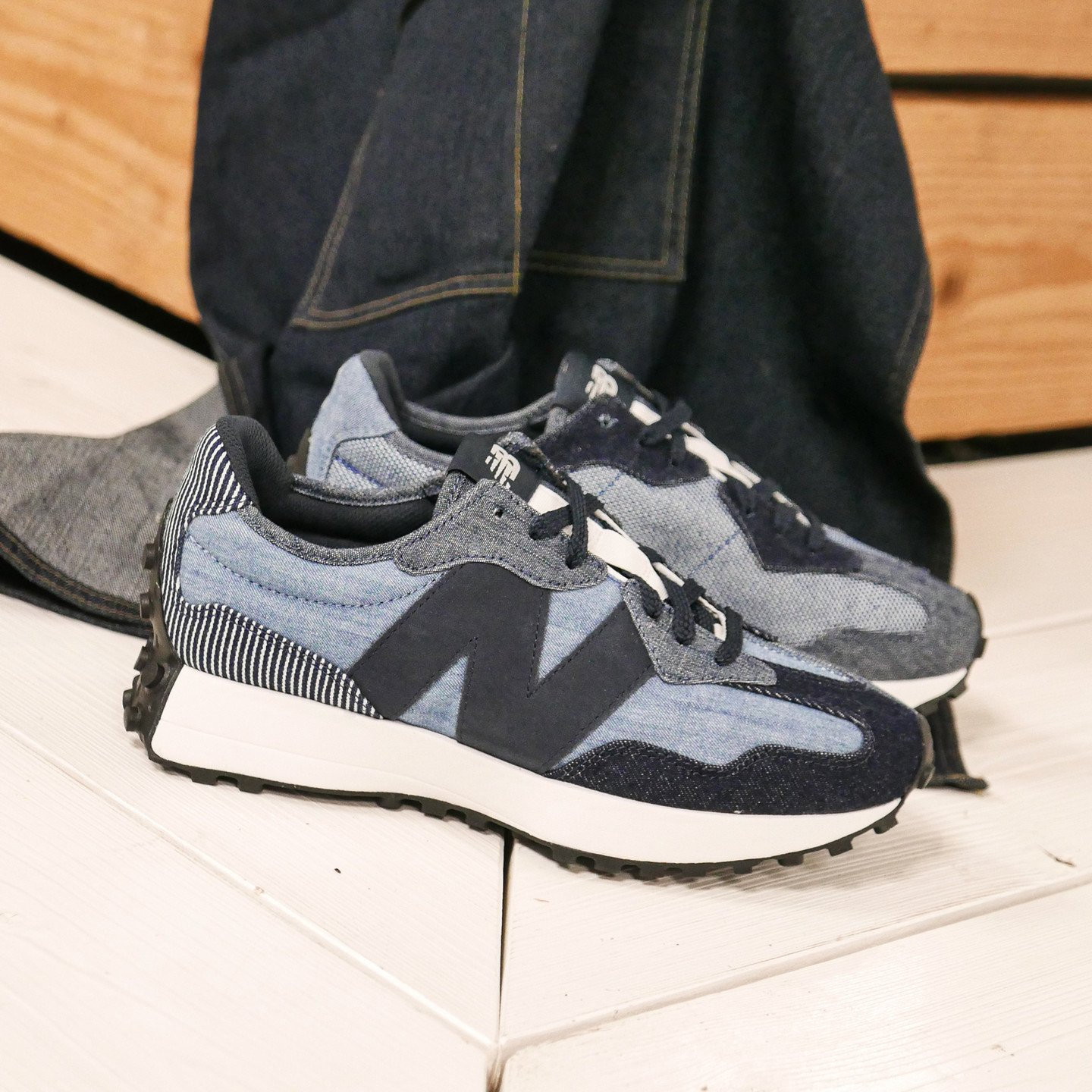 New Balance MS327 Denim / Eclipse / Team Away Grey MS327PA