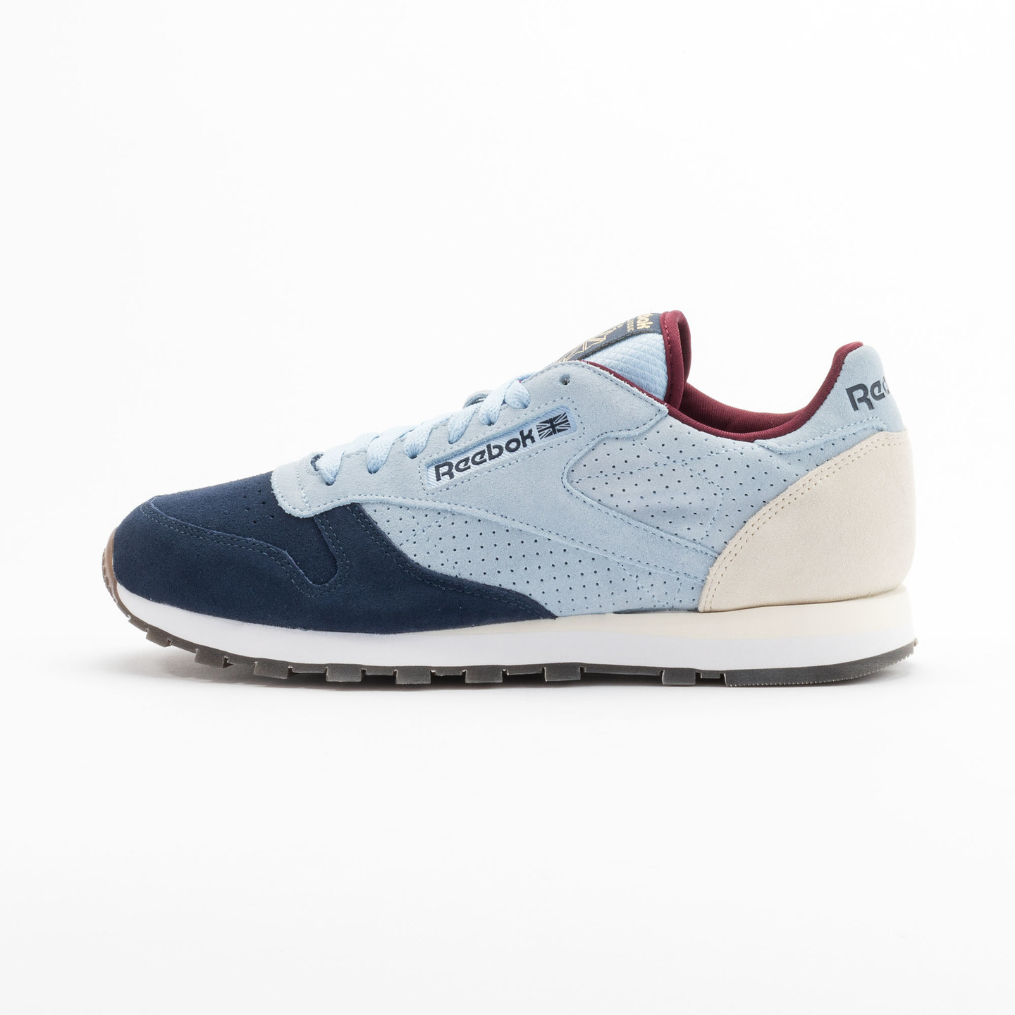 Reebok Classic Leather Int Navy / Light Blue / Sand V66829-41