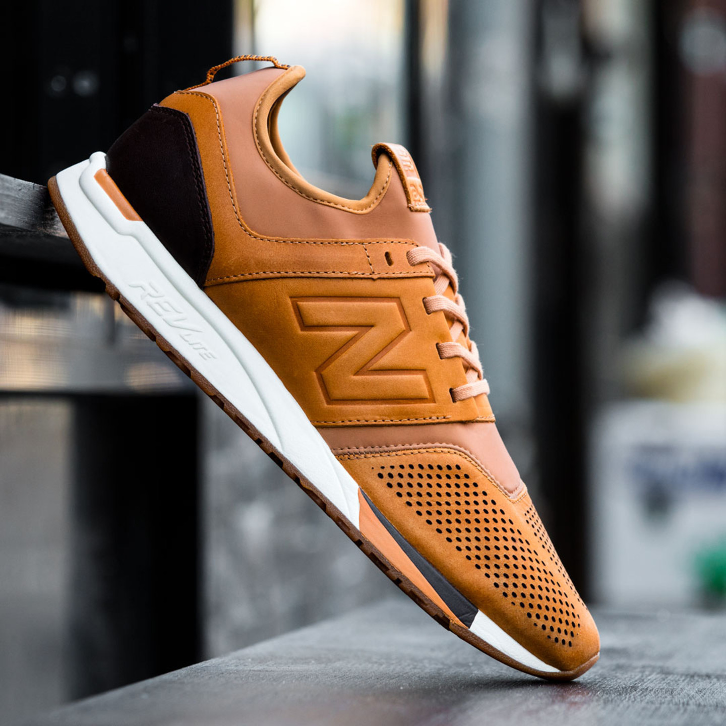 New Balance MRL 247 'Luxe Pack' Tan / Cream / Dark Brown MRL247TA-44