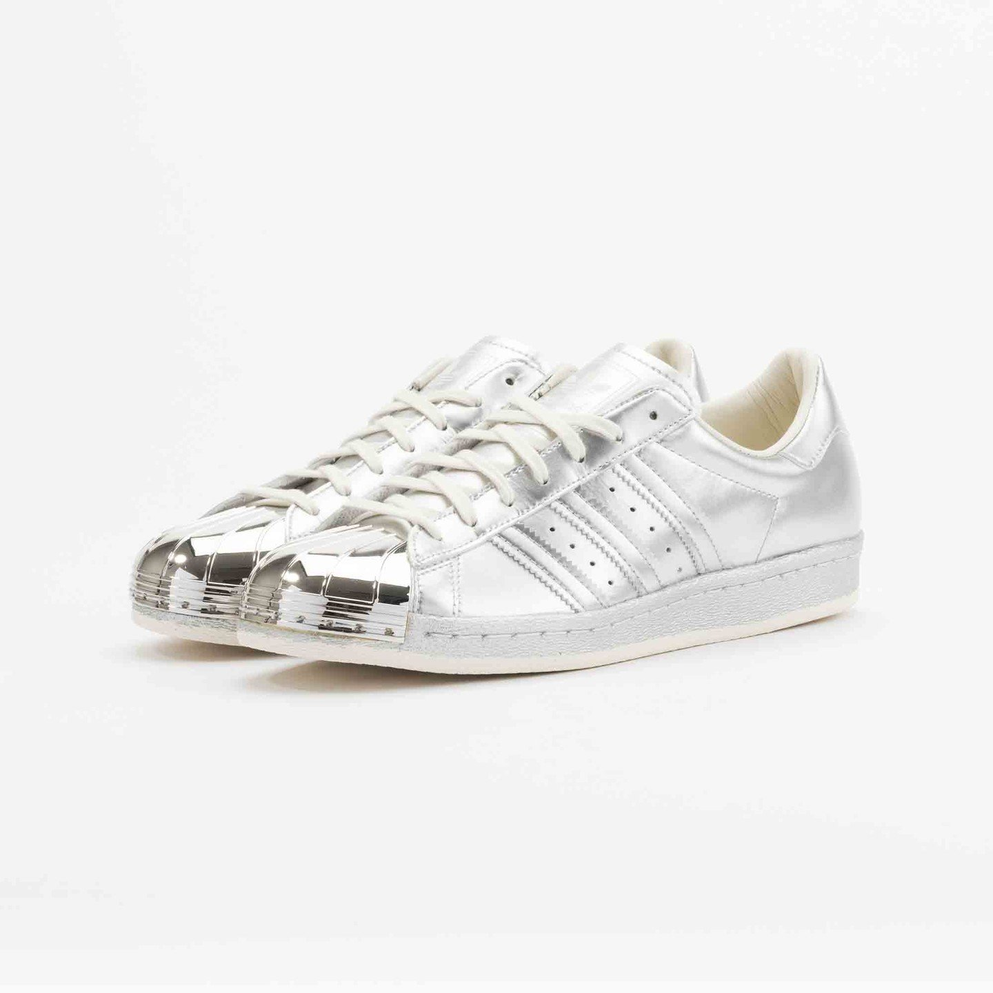 Adidas Superstar 80s Metallic Pack Silver Metallic S82741-39.33