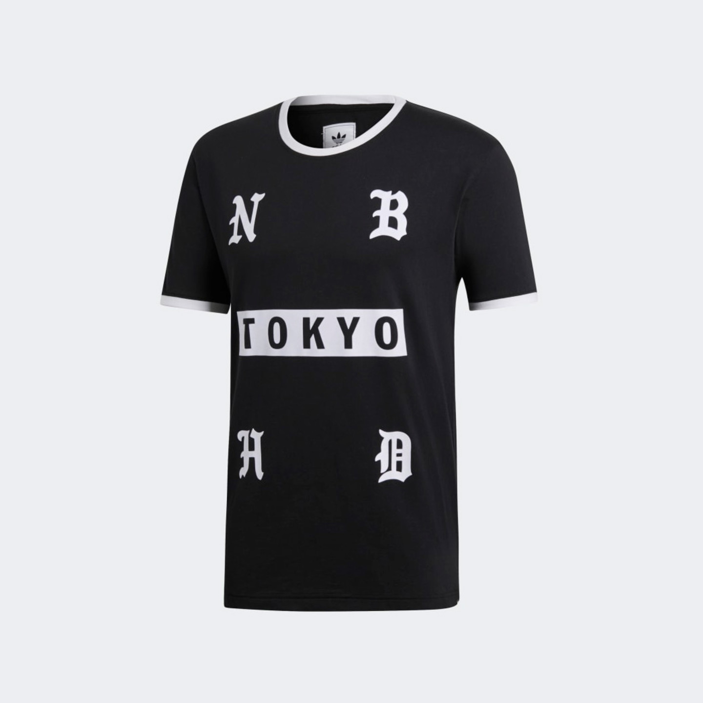 Adidas Neighborhood Tokyo Tee Black / White / Red DH2041