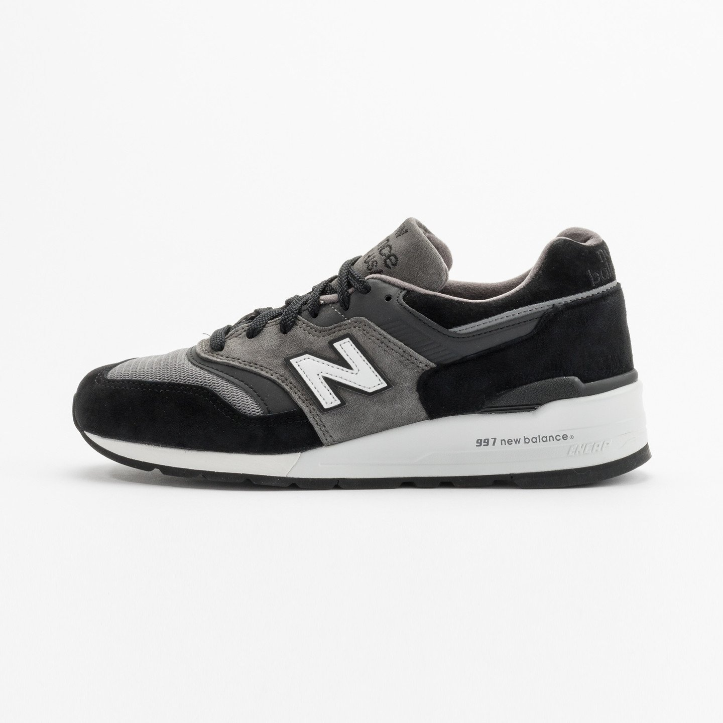 New Balance M997 Made in USA Grey / Black / White M997CUR-41.5