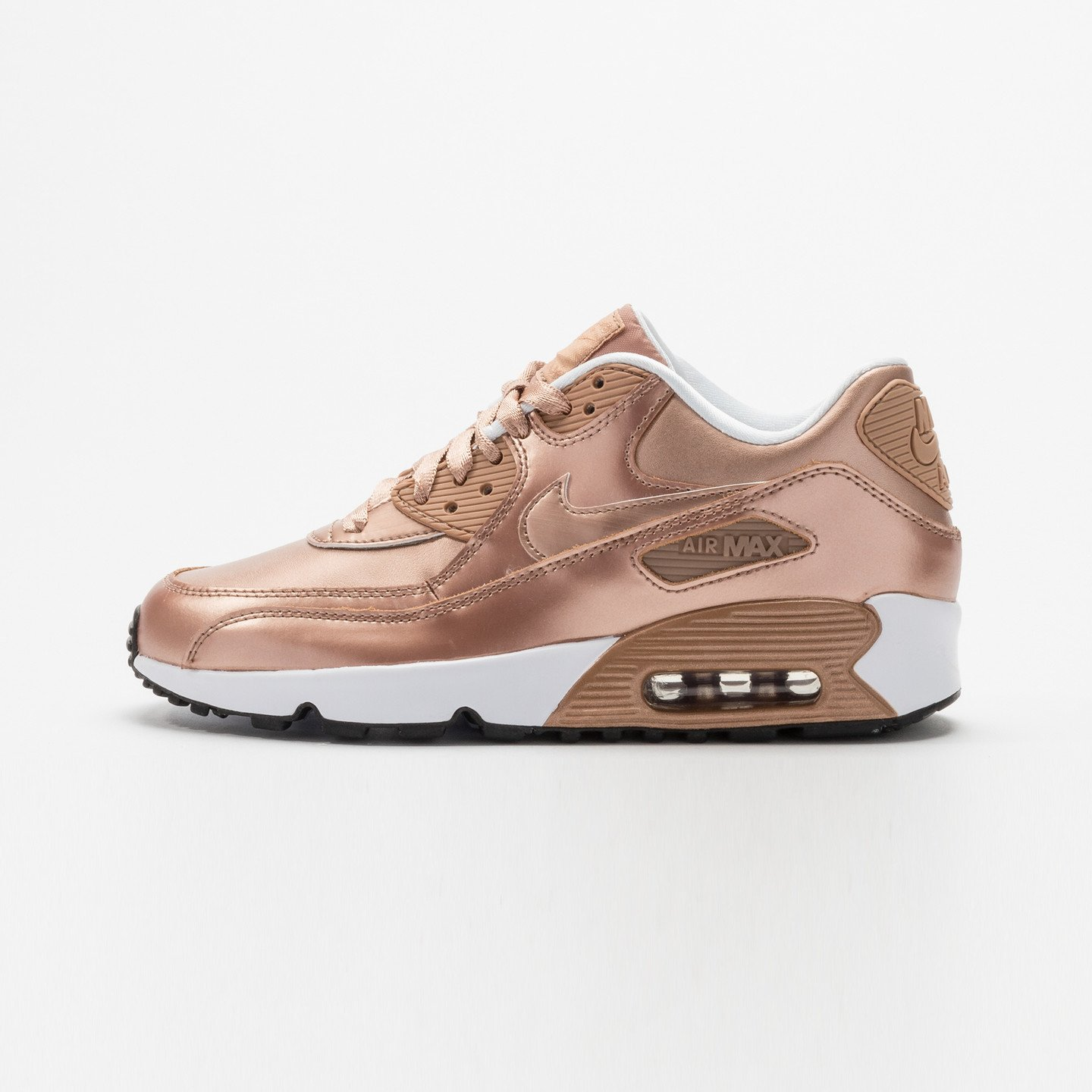 Nike Air Max 90 SE Leather (GS) Metallic Red Bronze 859633-900-37.5