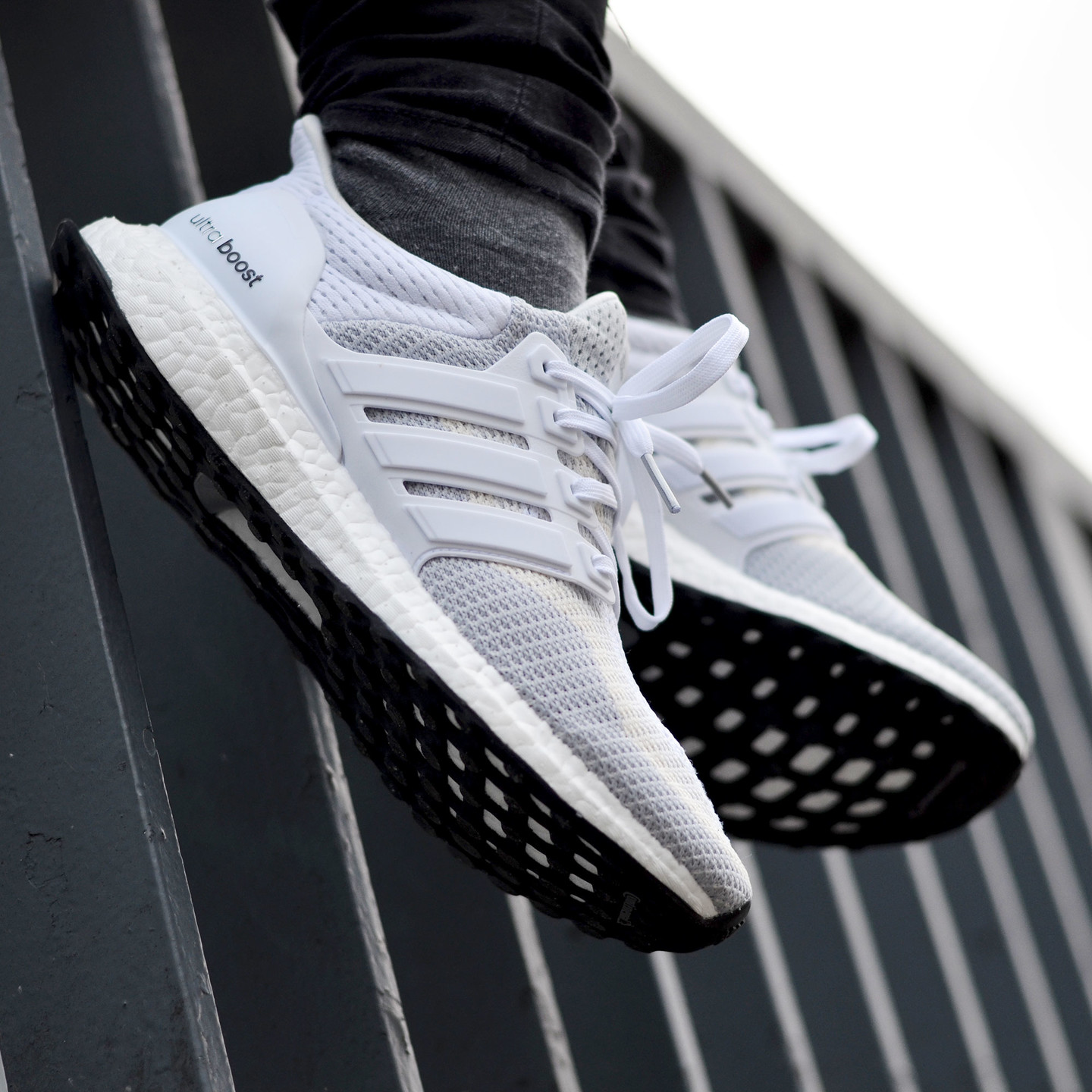 Adidas Ultra Boost W Running White / Clear Grey AF5142-40.66
