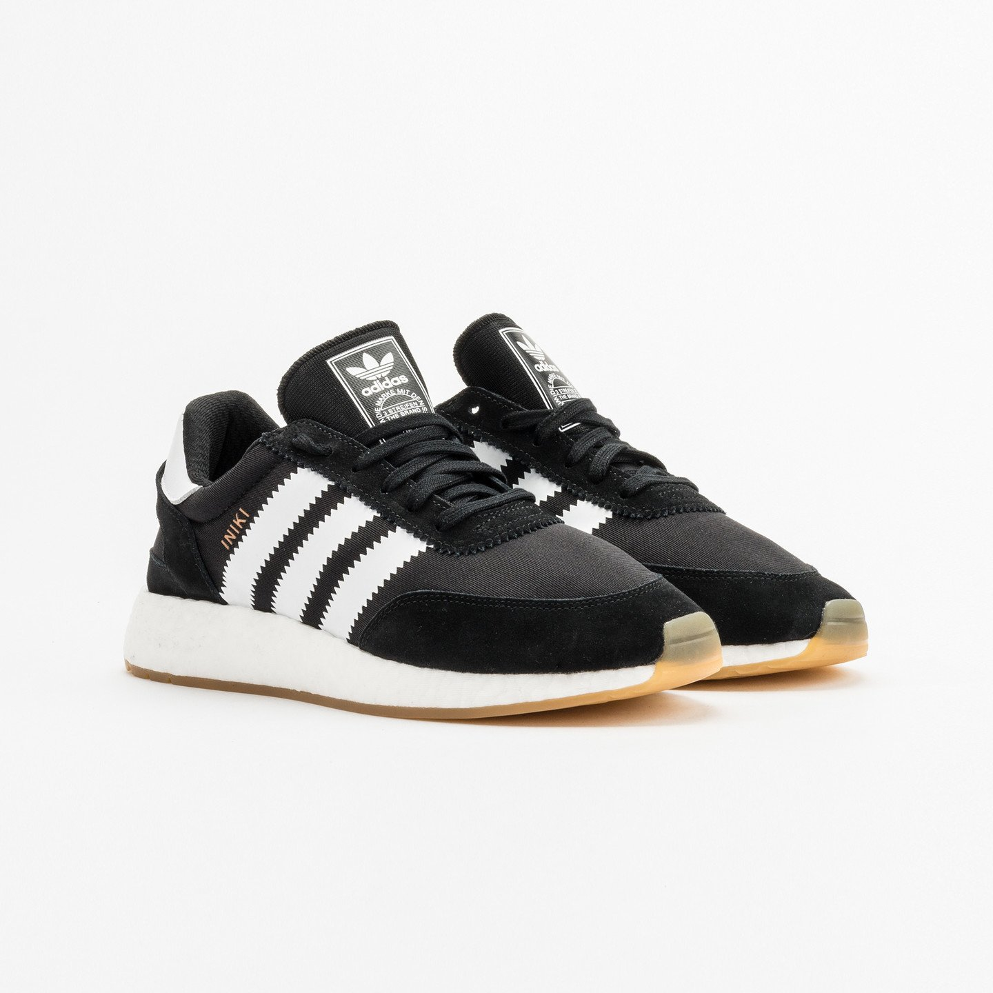 Adidas Iniki Runner Core Black / Ftwr White BY9727