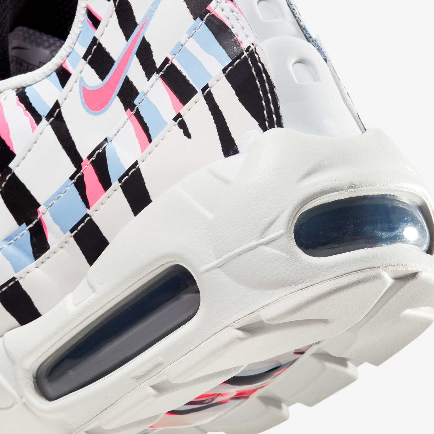 Nike Air Max 95 'Korea' White / Royal Tint / Racer Pink / Black CW2359-100