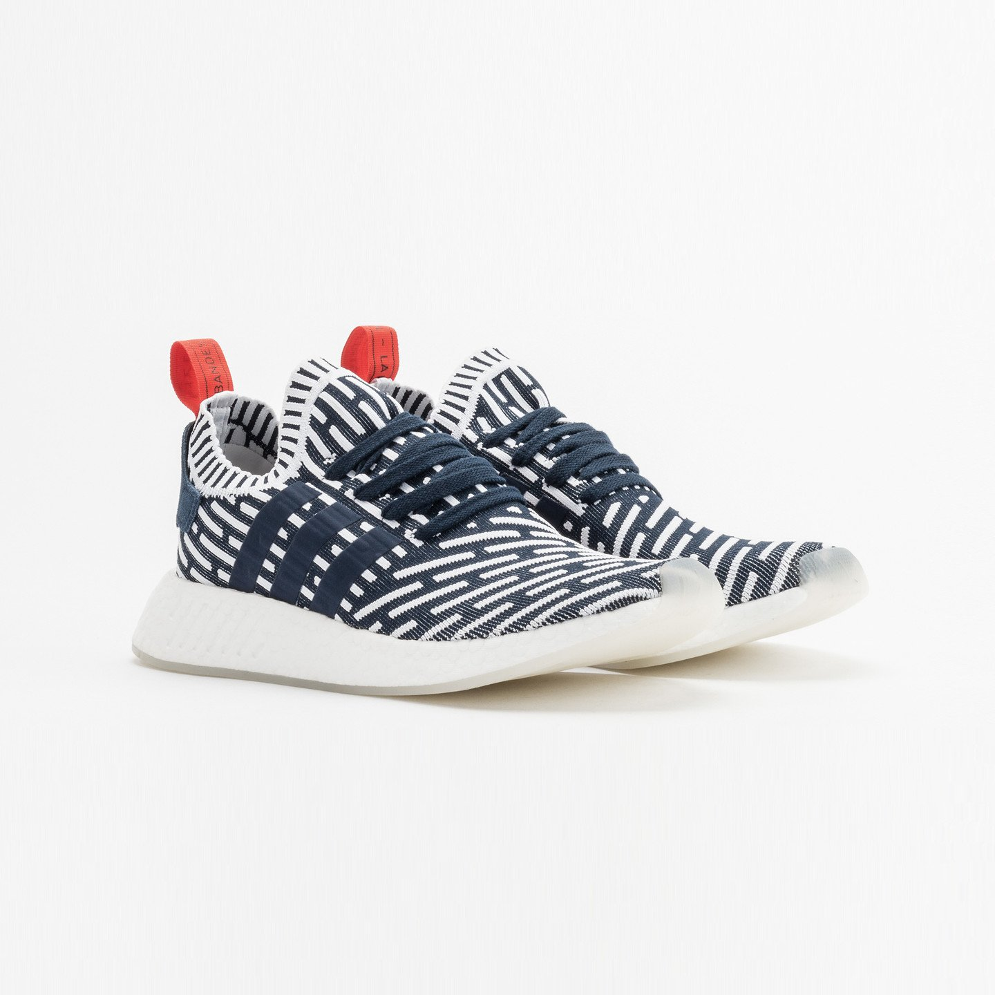 Adidas NMD R2 PK Collegiate Navy / White BB2909-46
