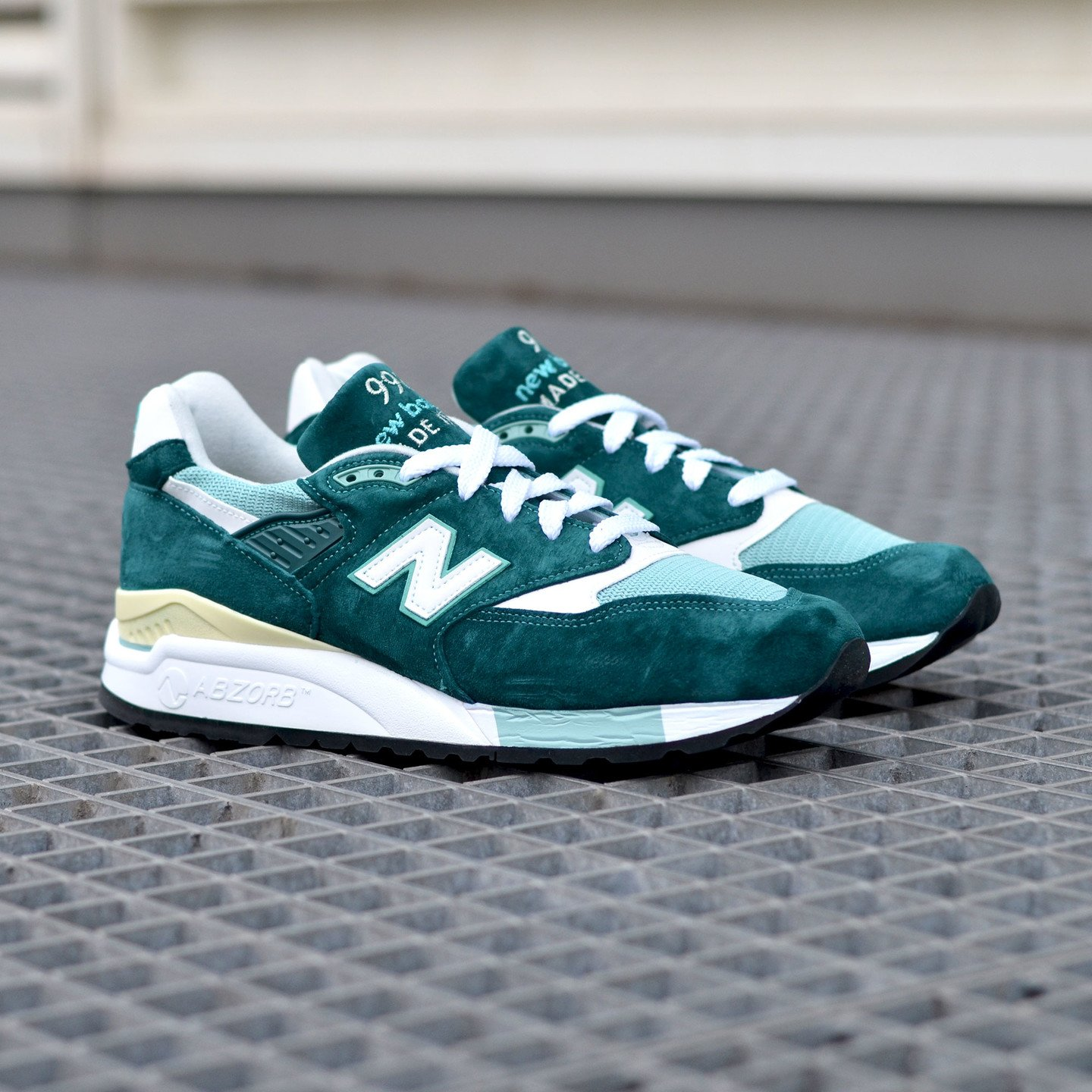 New Balance M998 Made in USA Sea Green / White M998CSAM-42.5