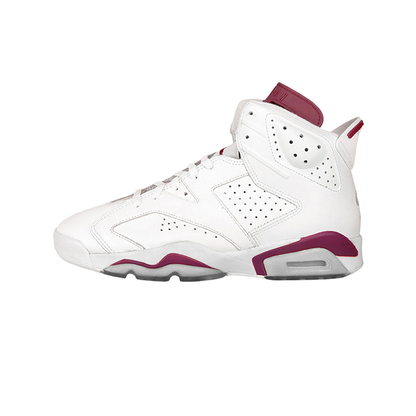 Jordan Air Jordan 6 Retro GS ´Maroon´ Off White / New Maroon 384665-116-36.5