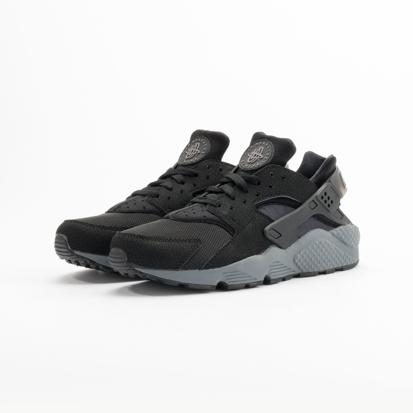 Nike Air Huarache Black / Dark Grey 318429-010-42.5