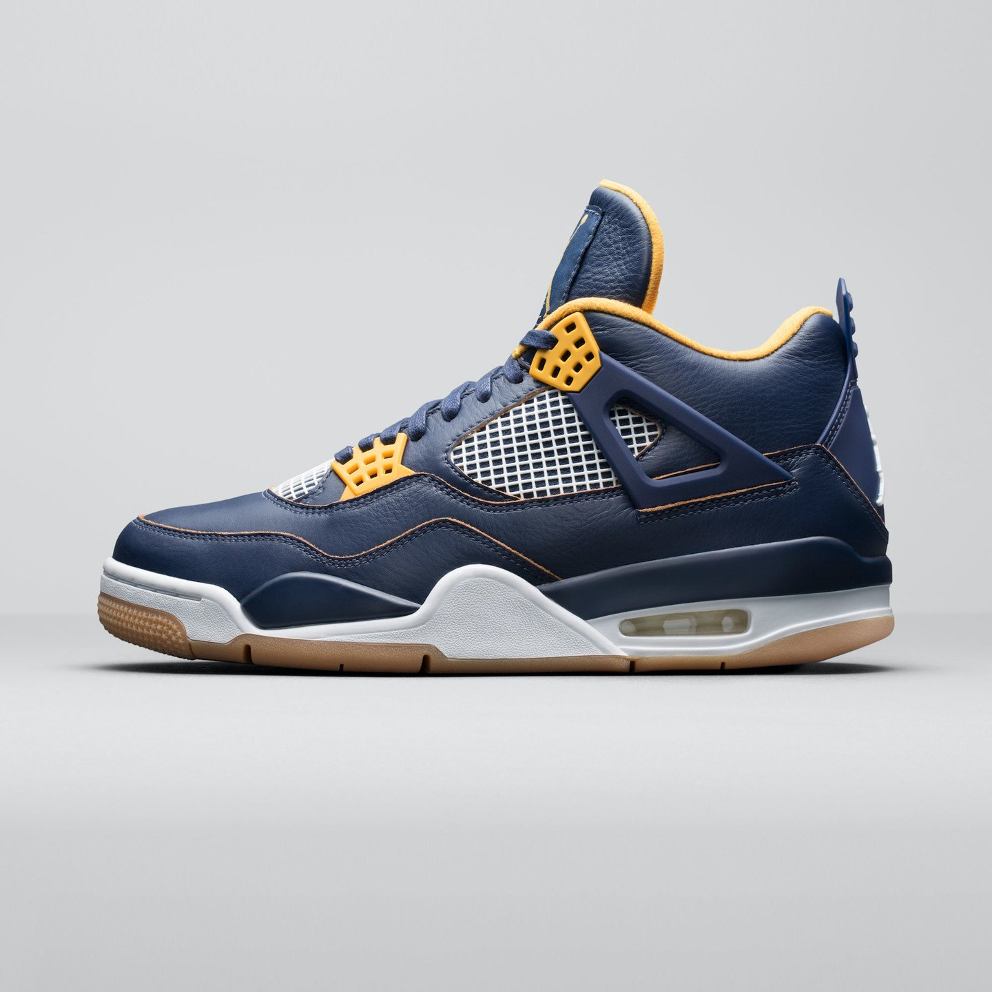 Jordan Air Jordan 4 Retro 'Dunk From Above' Midnight Navy / Golden Yellow / White 308497-425-44