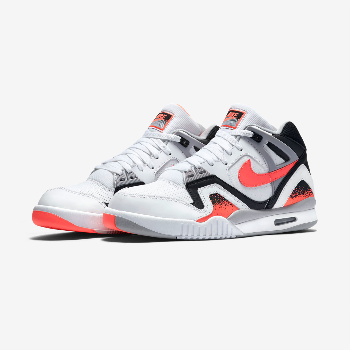 Nike Air Tech Challenge II White / Hot Lava 318408-104-45.5