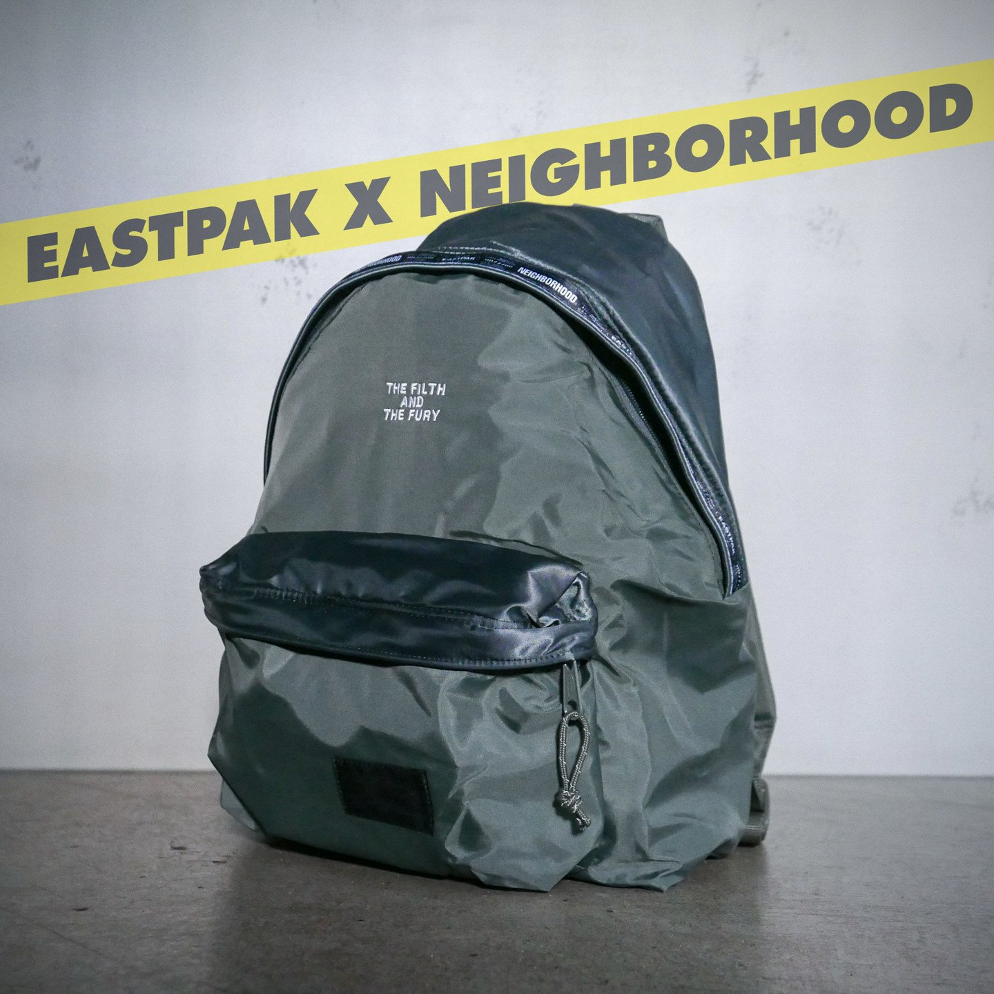 Eastpak NBHD Padded Backpack Flight Jacket Olive EK82EA67