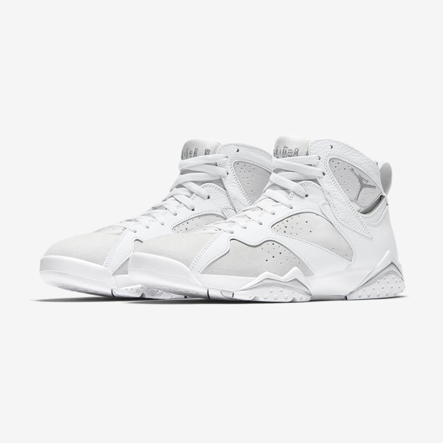 Jordan Air Jordan 7 Retro 'Pure Money' White / Metallic Silver 304775-120-44.5