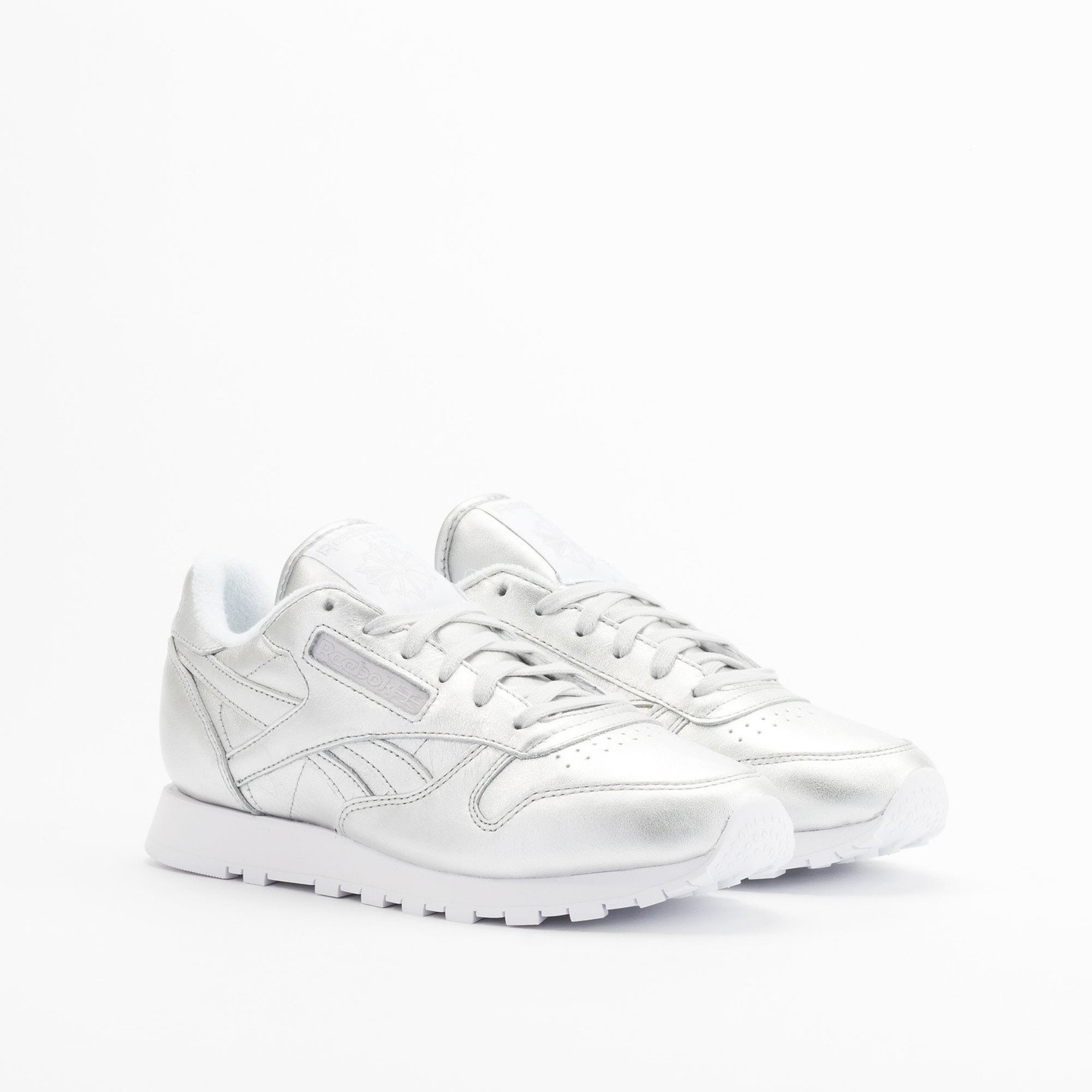 Reebok Classic Leather Spirit Presence Silver / White V62700-42