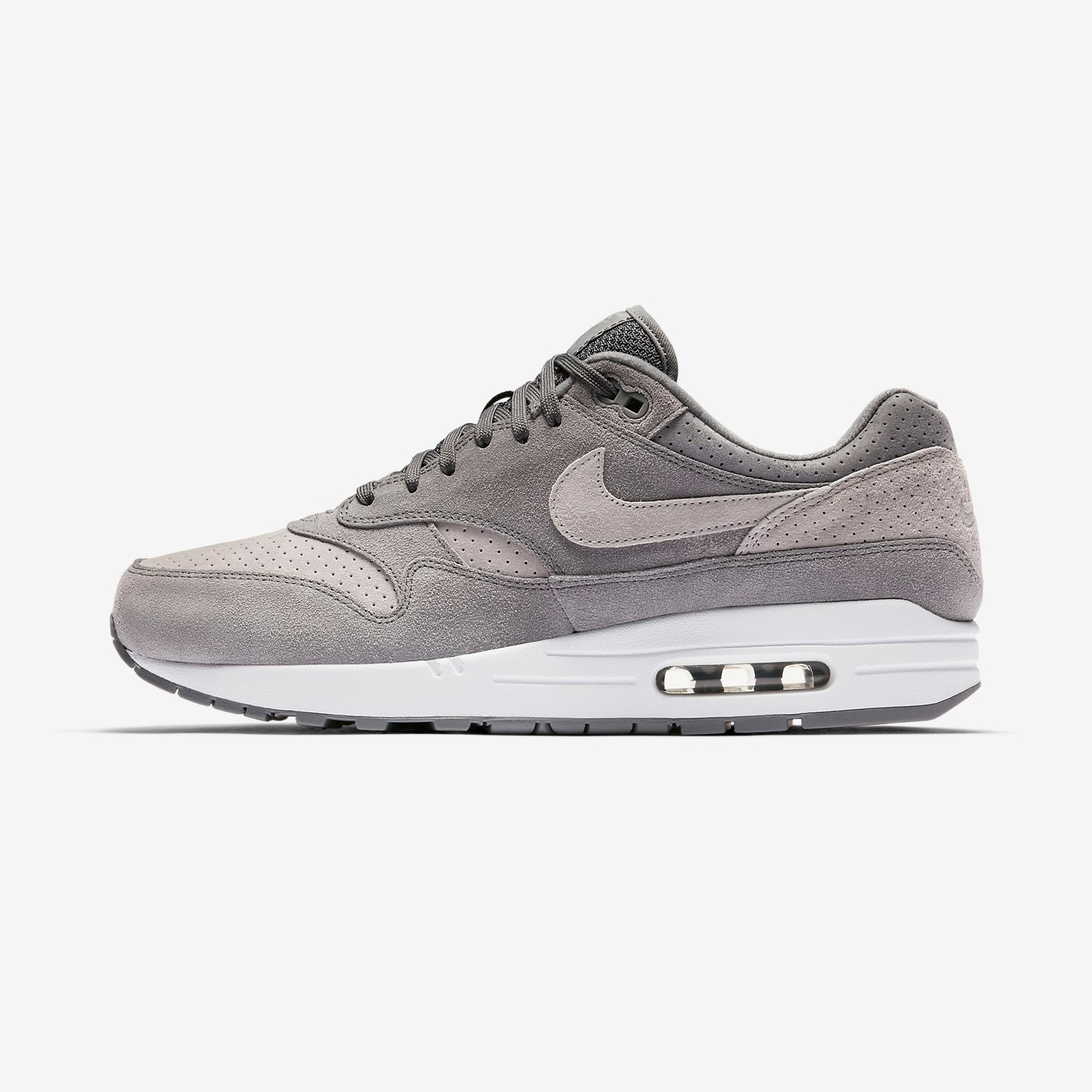 Nike Air Max 1 Premium Cool Grey / Wolf Grey / White 875844-005