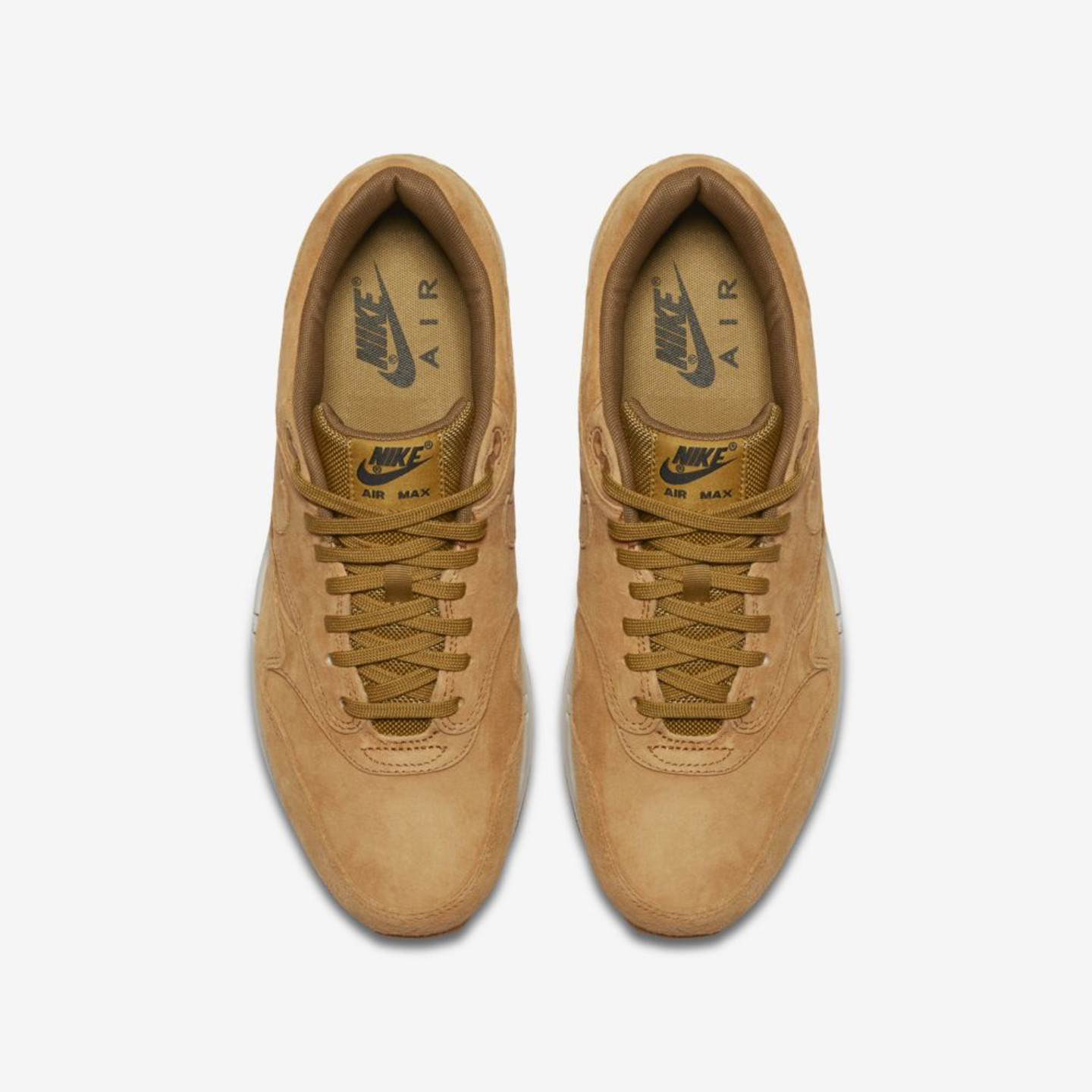 Nike Air Max 1 Wheat / Light Bone / Gum 875844-701