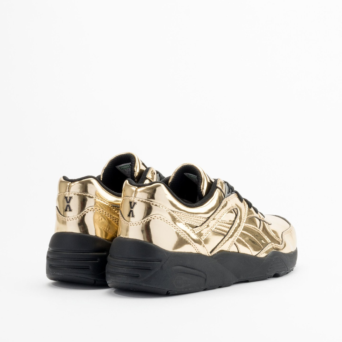 Puma R698 x Vashtie Gold Metallic Gold / Black 358838 01-44.5