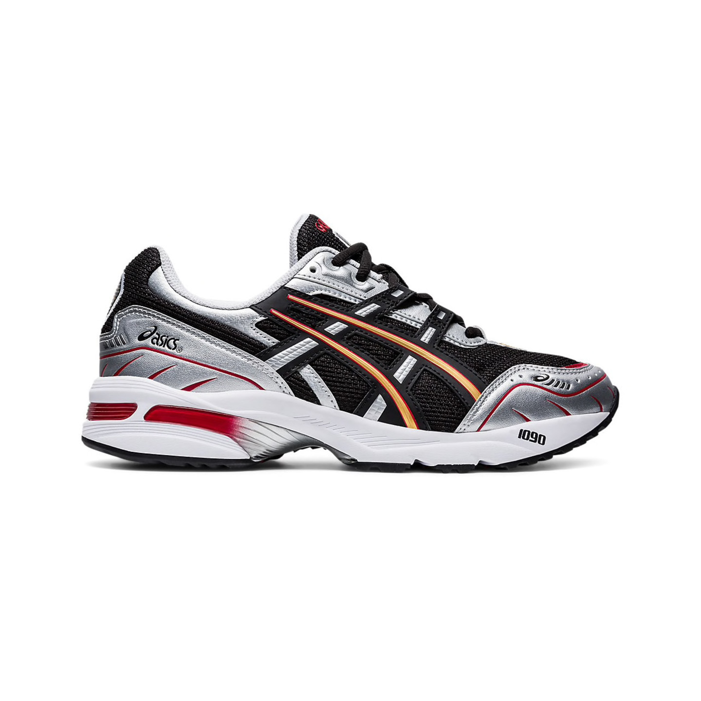Asics GEL-1090 Black / Metallic Silver / Pure Gold / Atomic Red 1021A275-003