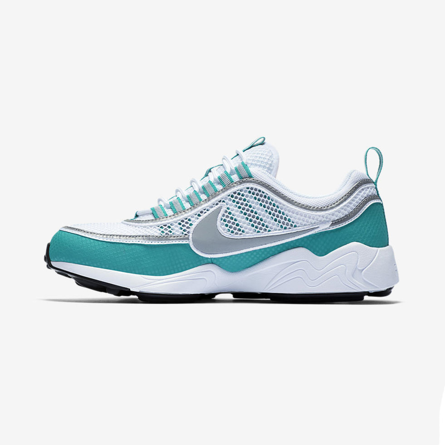 Nike Air Zoom Spiridon White / Silver / Turbo Green / Laser Orange 849776-102-41