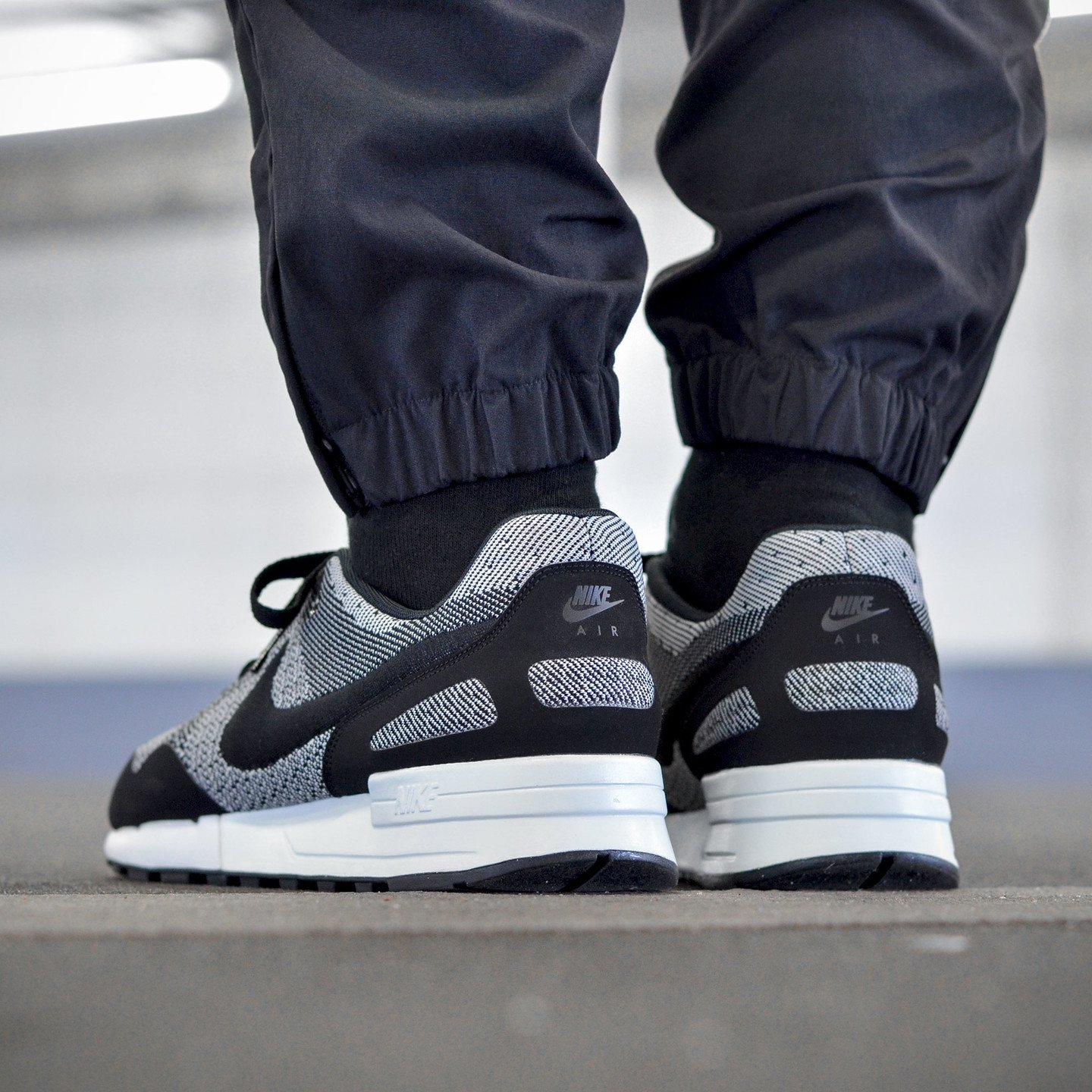 Nike Air Pegasus ´89 Jacquard Black / White 844751-001-44.5