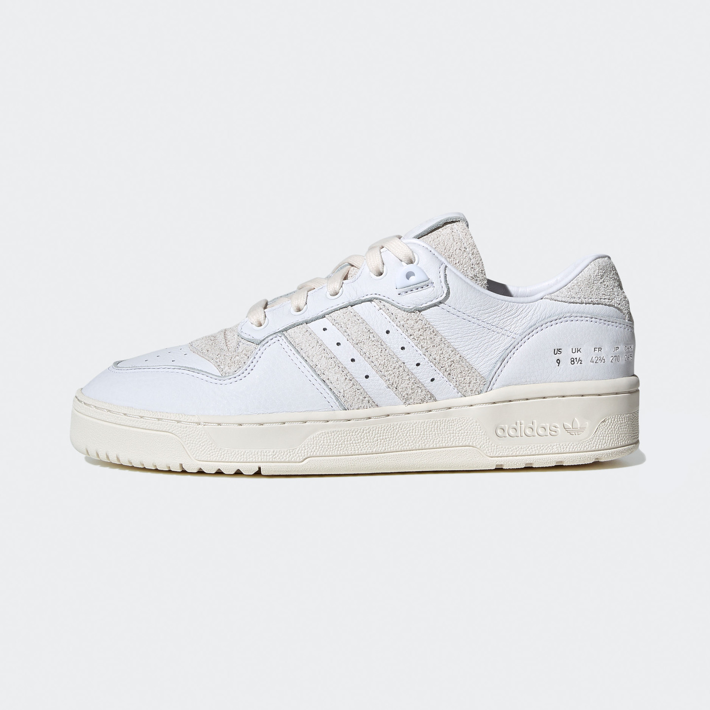 Adidas Rivalry Low Premium Leather Cloud White / Crystal White / Off White FY0035