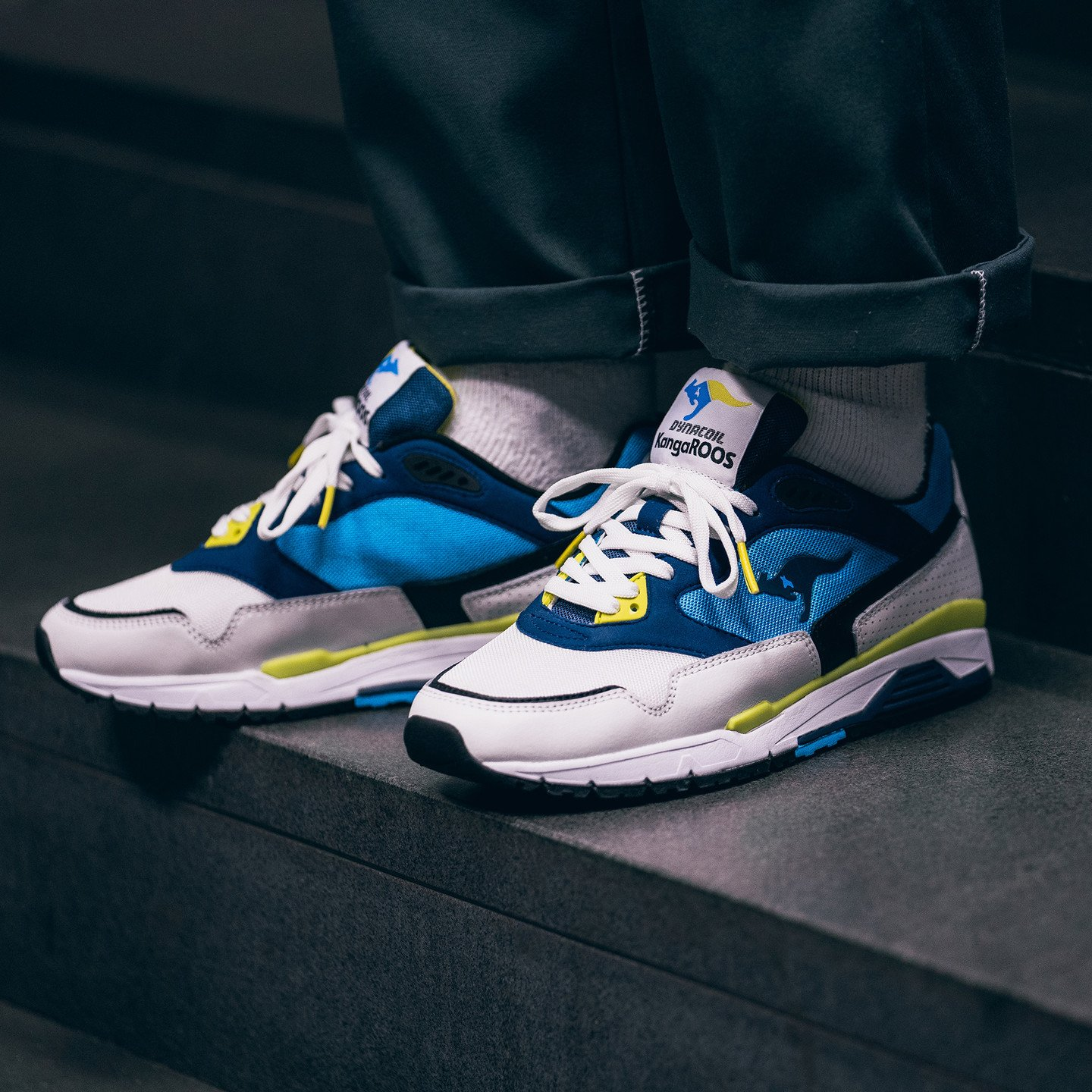 KangaROOS Ultimate OG White / Navy / Blue / Volt 47254-0025