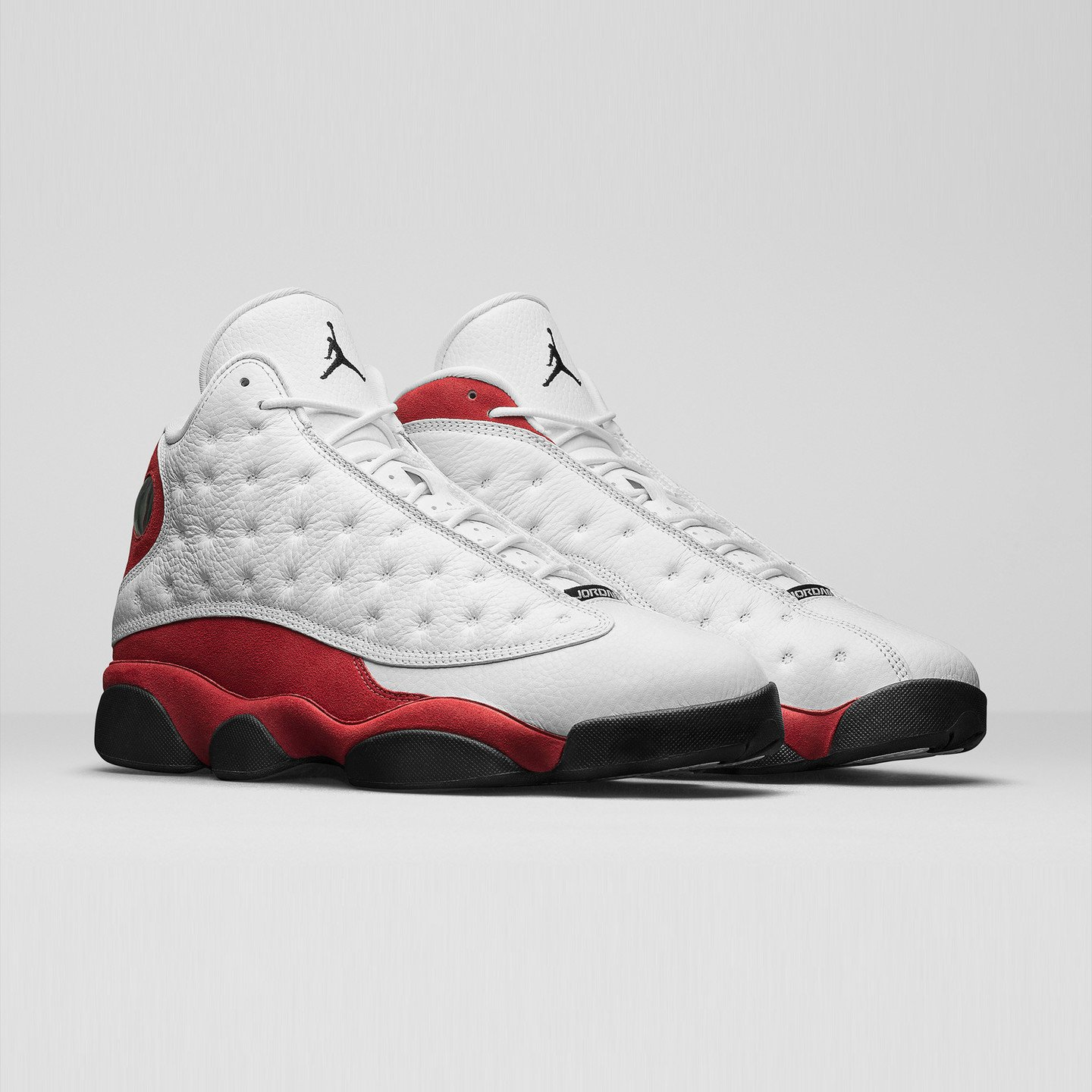 Jordan Air Jordan 13 Retro OG White / Black / Team Red 414571-122-45