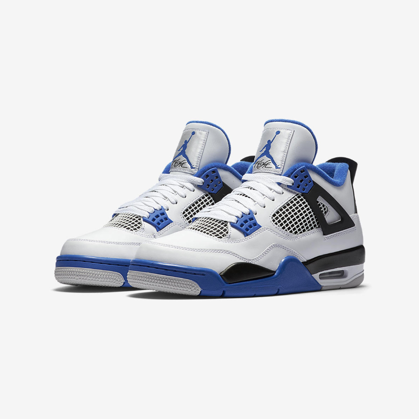 Jordan Air Jordan 4 Retro 'Motorsport' White / Game Royal / Black 308497 117