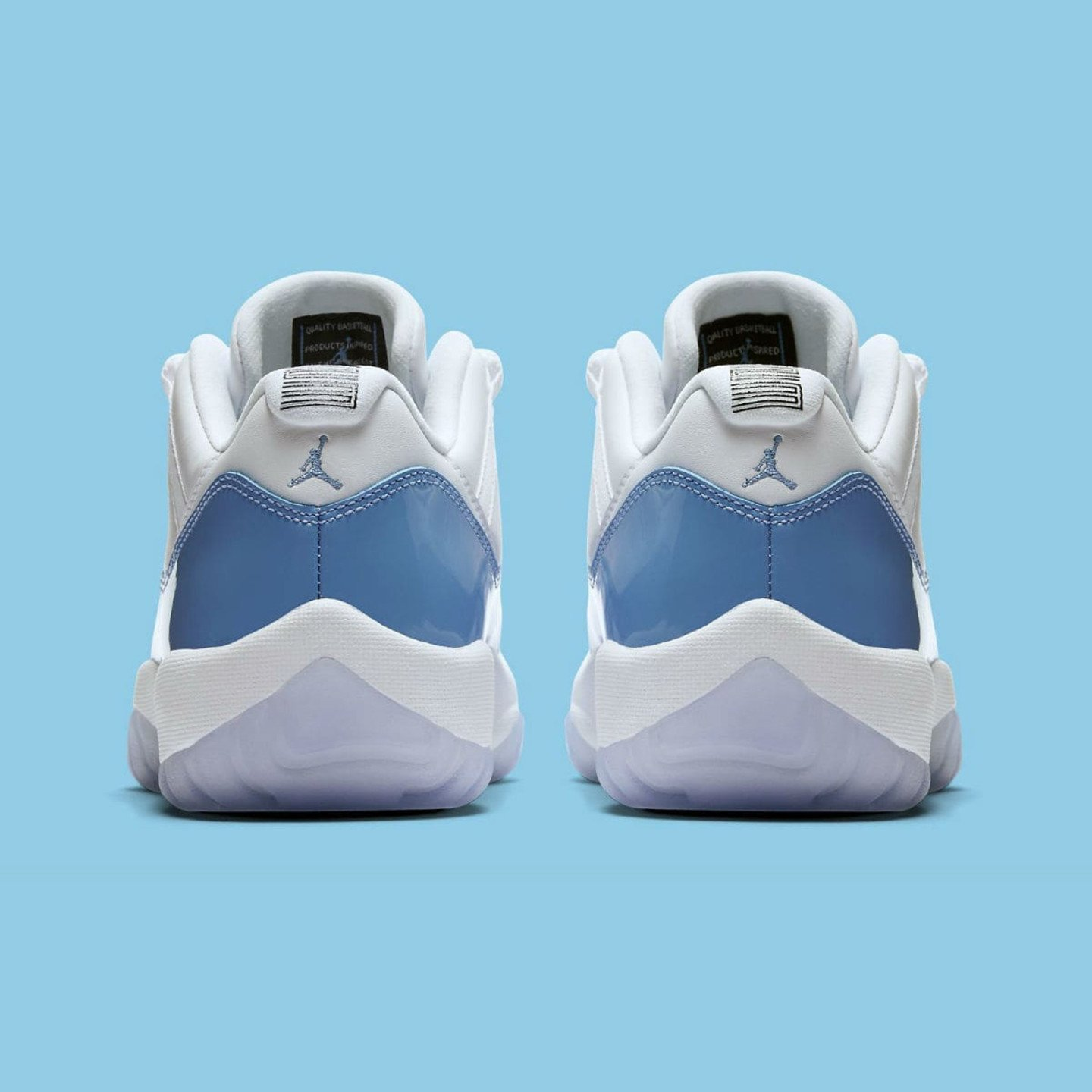 Jordan Air Jordan 11 Retro Low 'UNC' White / University Blue 528895-106