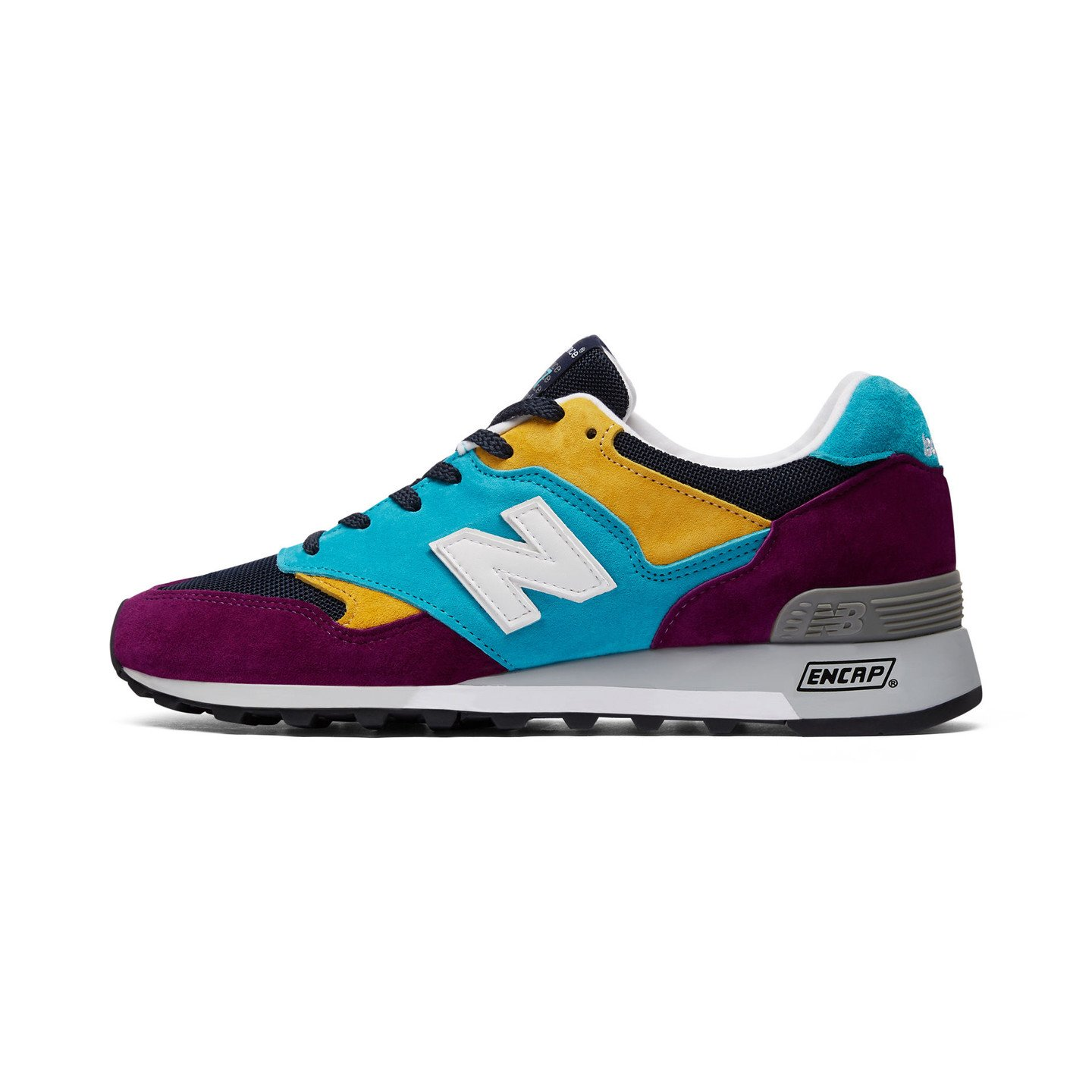 New Balance M577 LP - Made in England Purple / Blue / Yellow M577LP