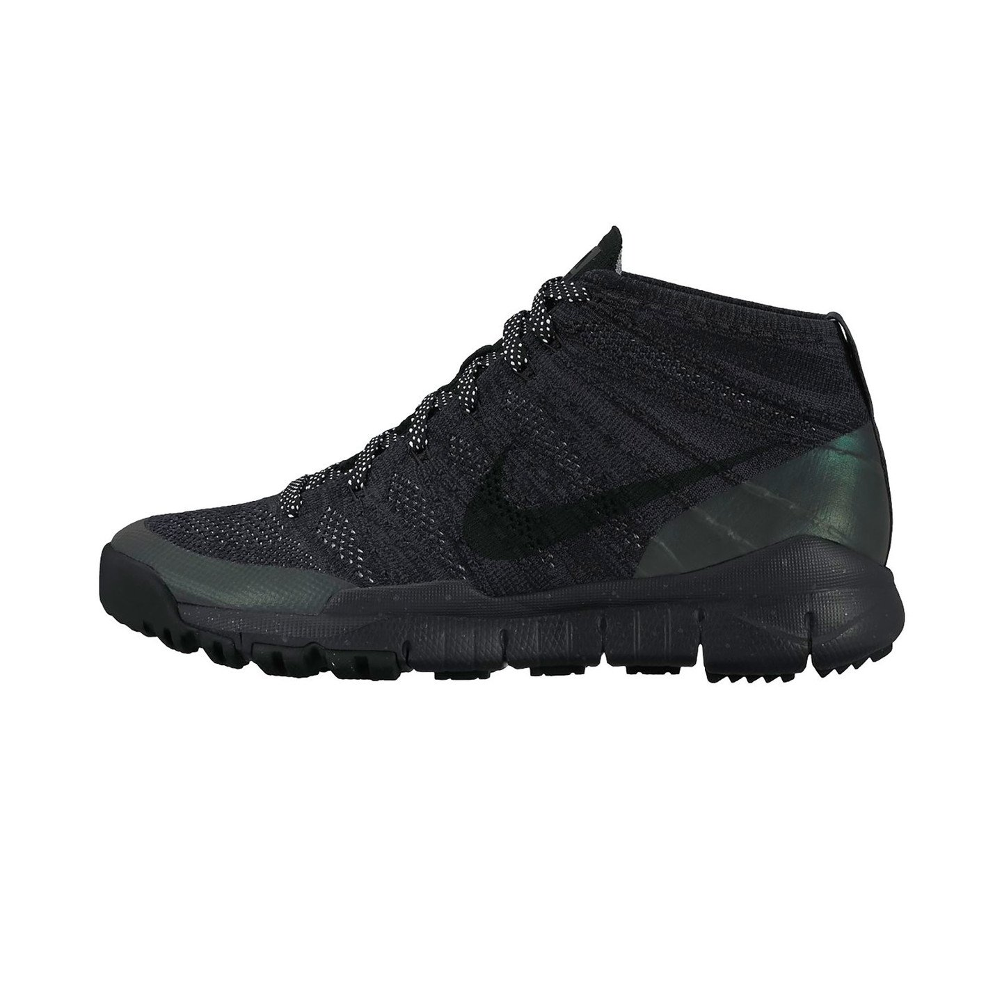 Nike Flyknit Trainer Chukka Sneakerboot Black / Anthracite 805092-001-42.5