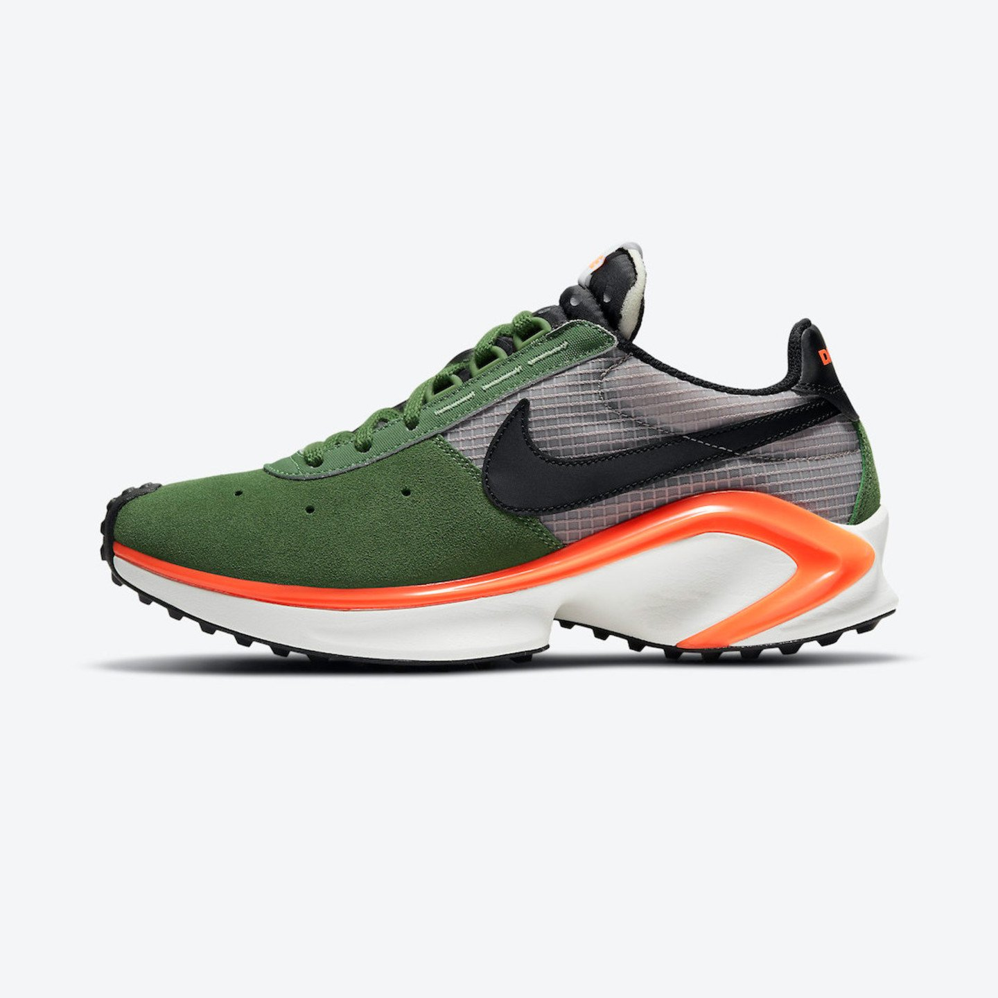 Nike D/MS/X Waffle Forest Green / Black / Orange / College Grey CQ0205-300