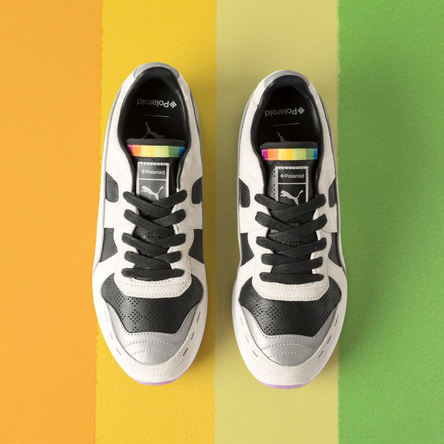 Puma RS-100 x Polaroid Marshmallow / Puma Black 368456 01
