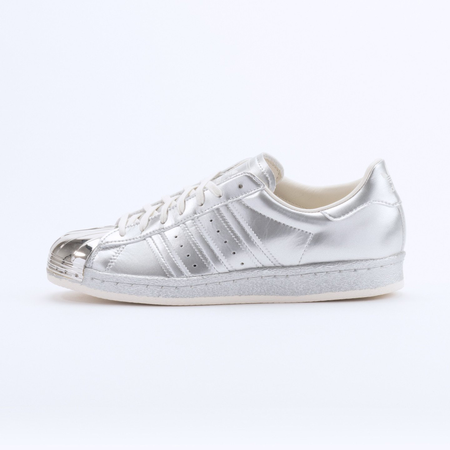 Adidas Superstar 80s Metallic Pack Silver Metallic S82741-40