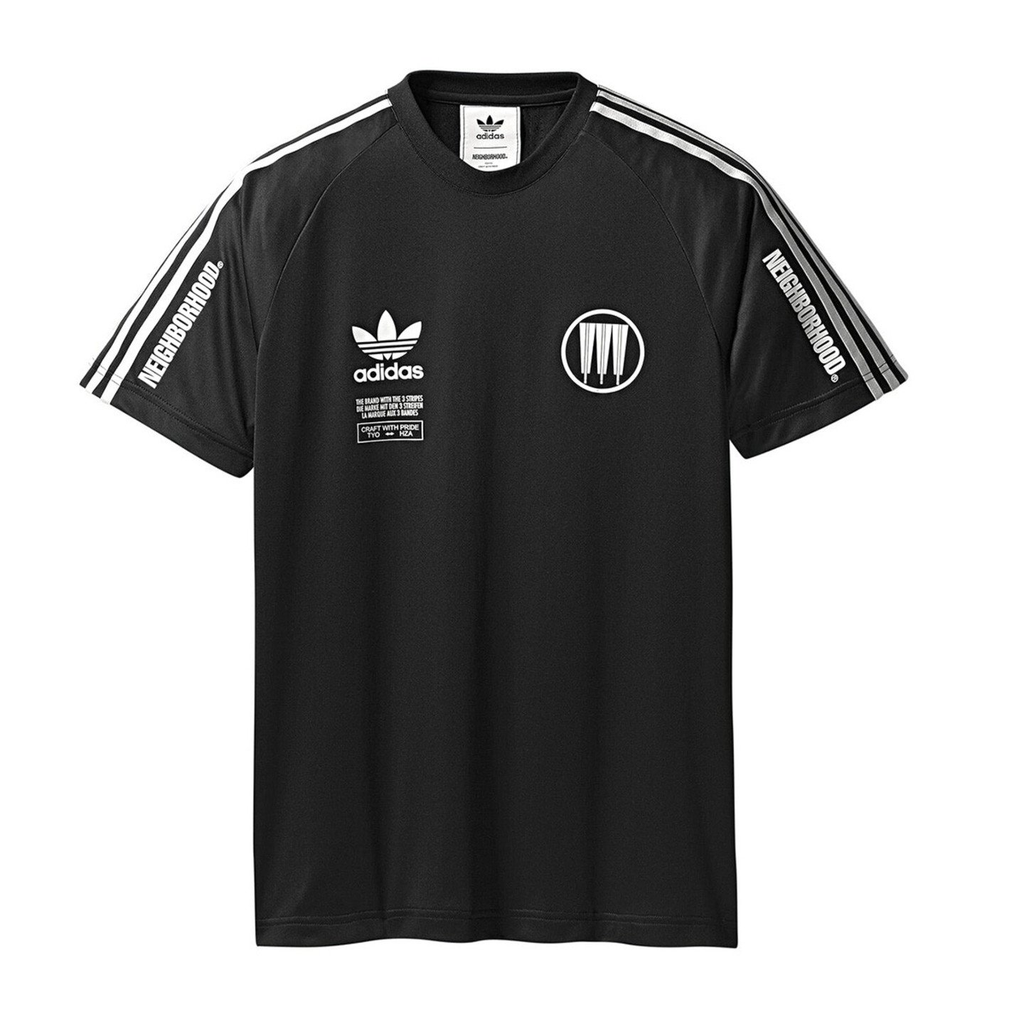 Adidas Neighborhood Game Jersey Black / White CD7729