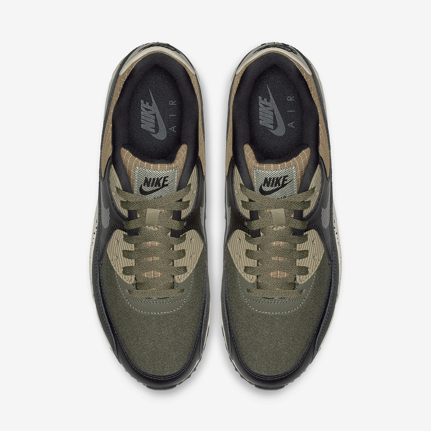 Nike Air Max 90 Premium 'Reflective Ripstop' Neutral Olive / Black / Anthracite 700155-203