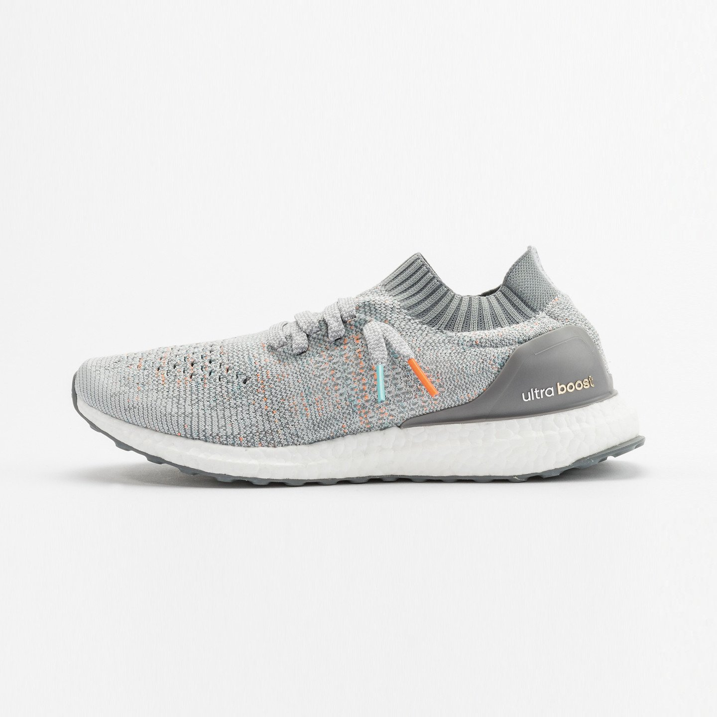 Adidas Ultra Boost Uncaged 'Miami Dolphins' Clear Grey / Mid Grey / Orange / Aqua BB4489-41.33
