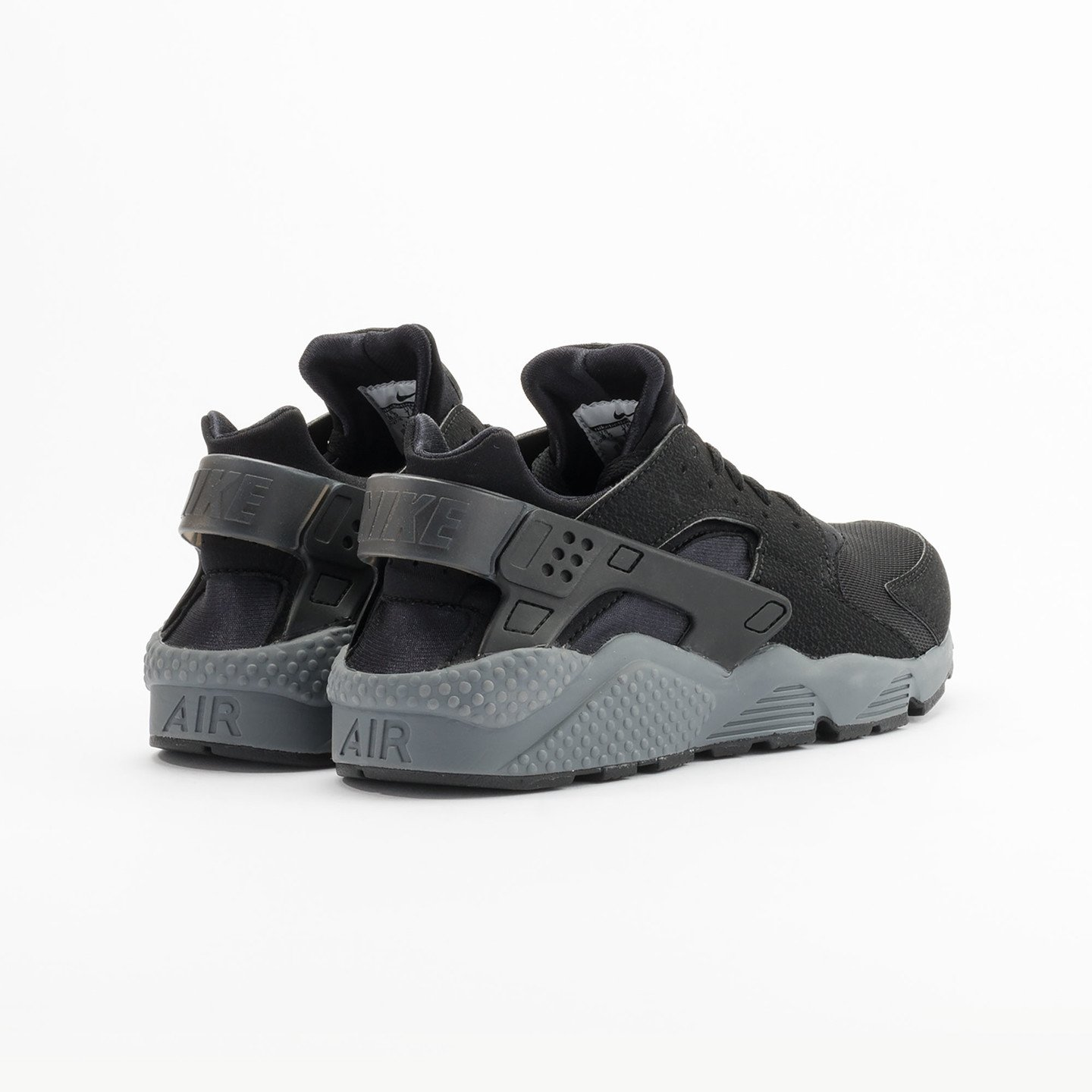 Nike Air Huarache Black / Dark Grey 318429-010-42
