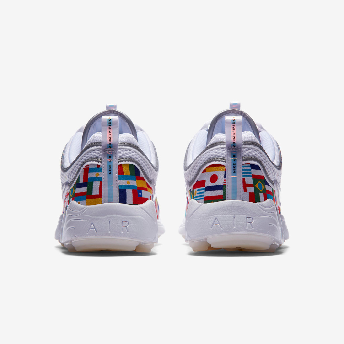 Nike Air Zoom Spiridon '16 NIC 'One World' QS White / Multicolor AO5121-100