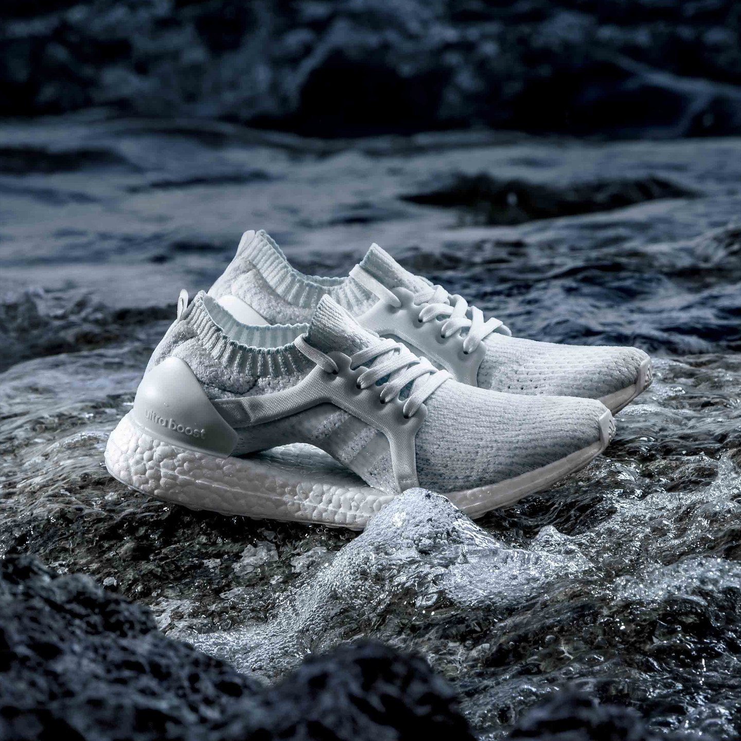 Adidas Ultra Boost X - Parley Oceans Ftwr White / Ice Blue BY2707