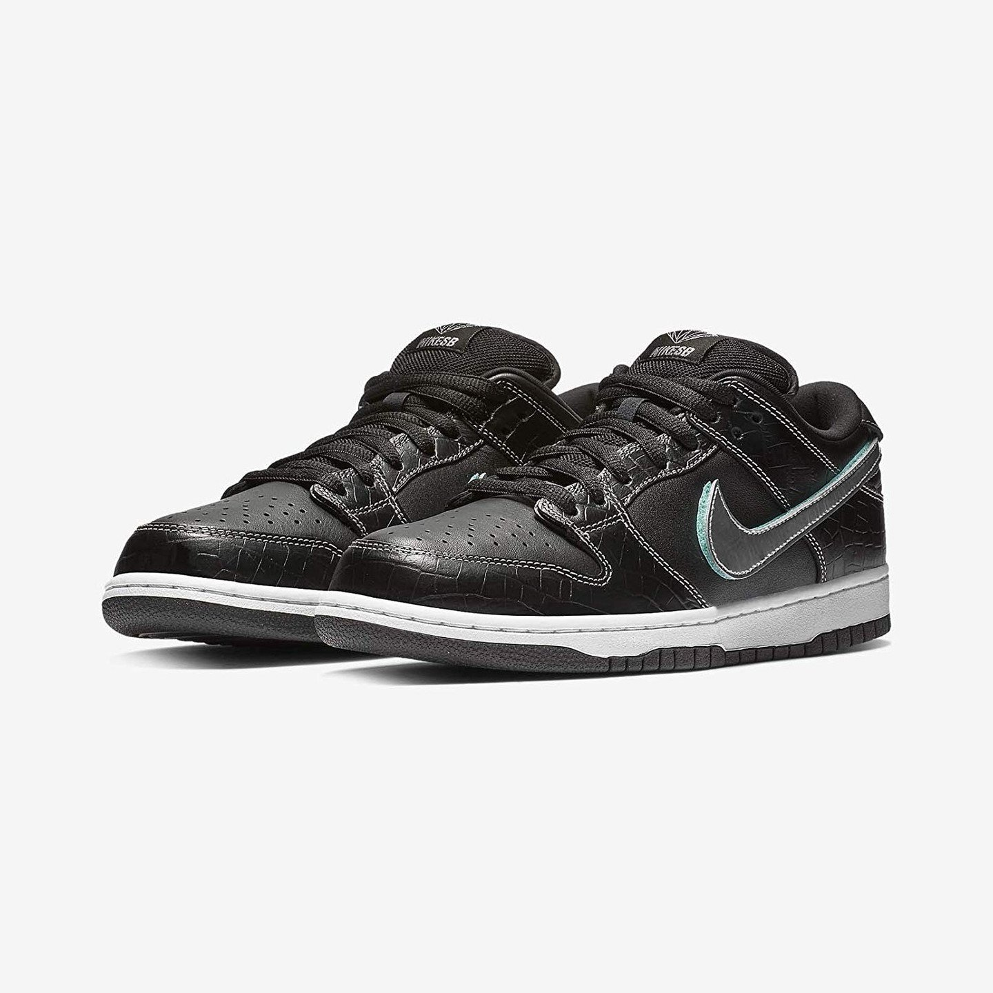Nike SB Dunk Low Pro OG 'Tiffany' Black / Chrome / Tropical Twist BV1310-001