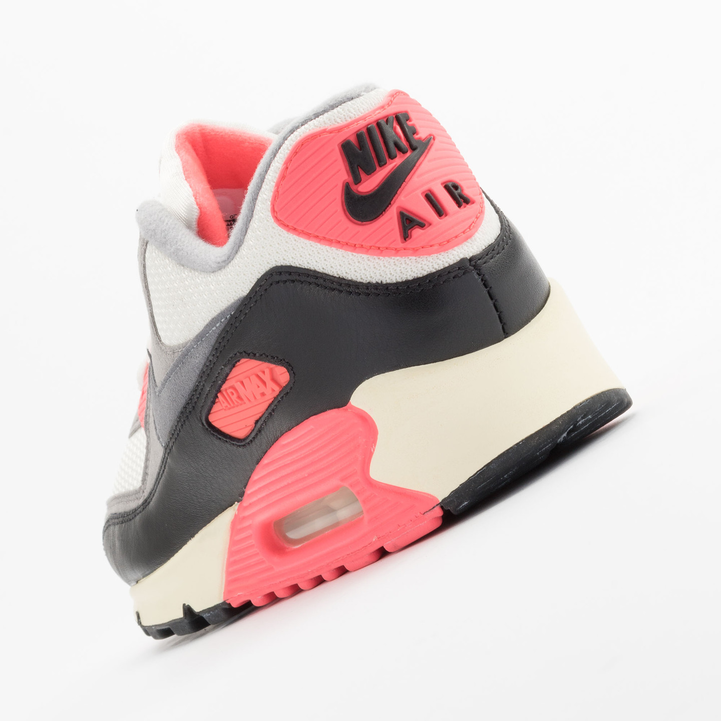 Nike Air Max 90 OG Vintage Infrared Sail/Cool Grey-Mdm Grey-Infrrd 543361-161-47.5