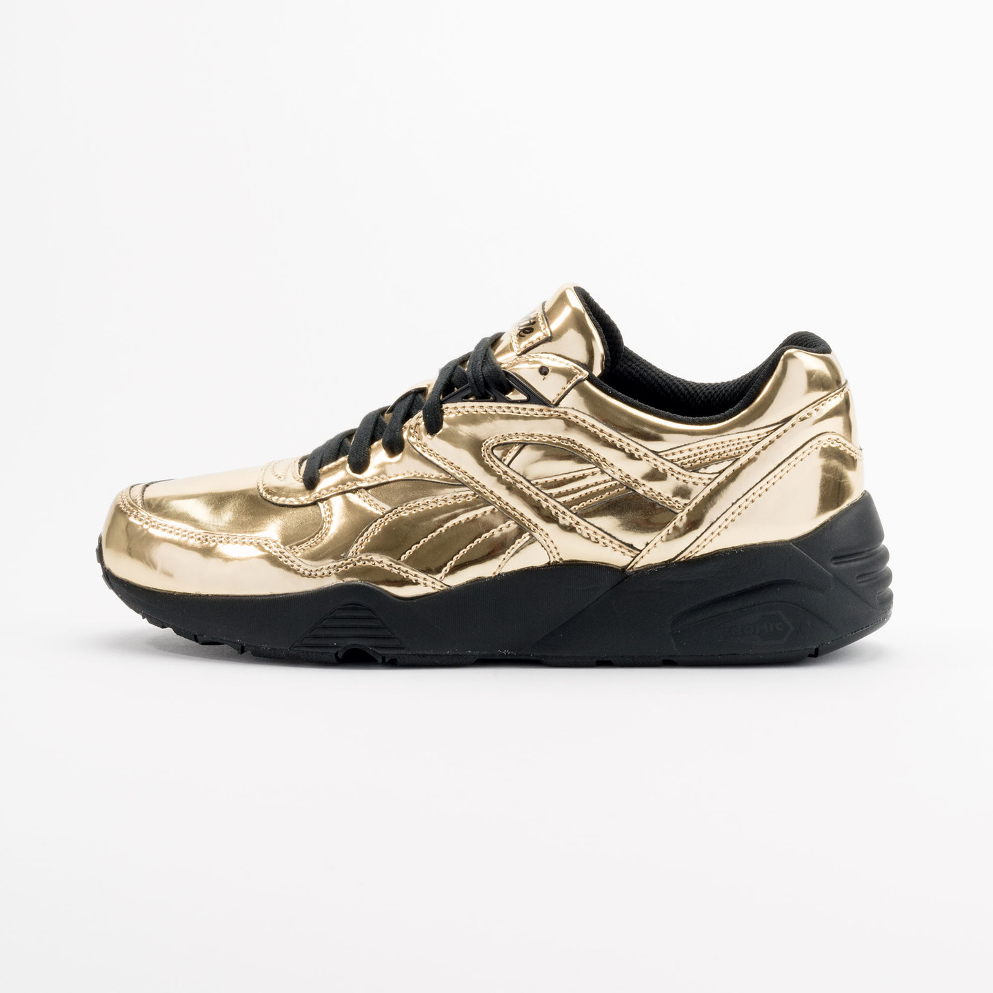 Puma R698 x Vashtie Gold Metallic Gold / Black 358838 01-44