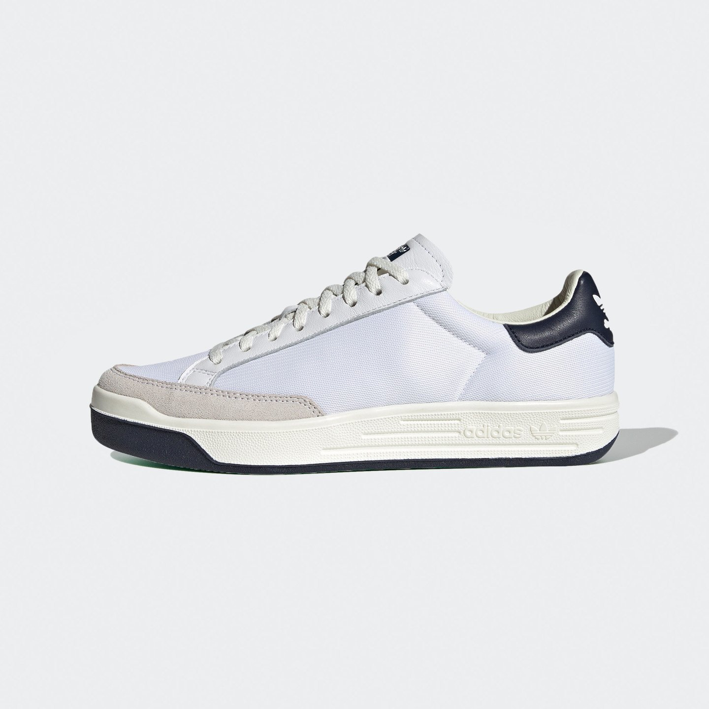 Adidas Rod Laver 'Rodney vs. Stanley' Cream White / Cloud White / Collegiate Navy / Green FY1791