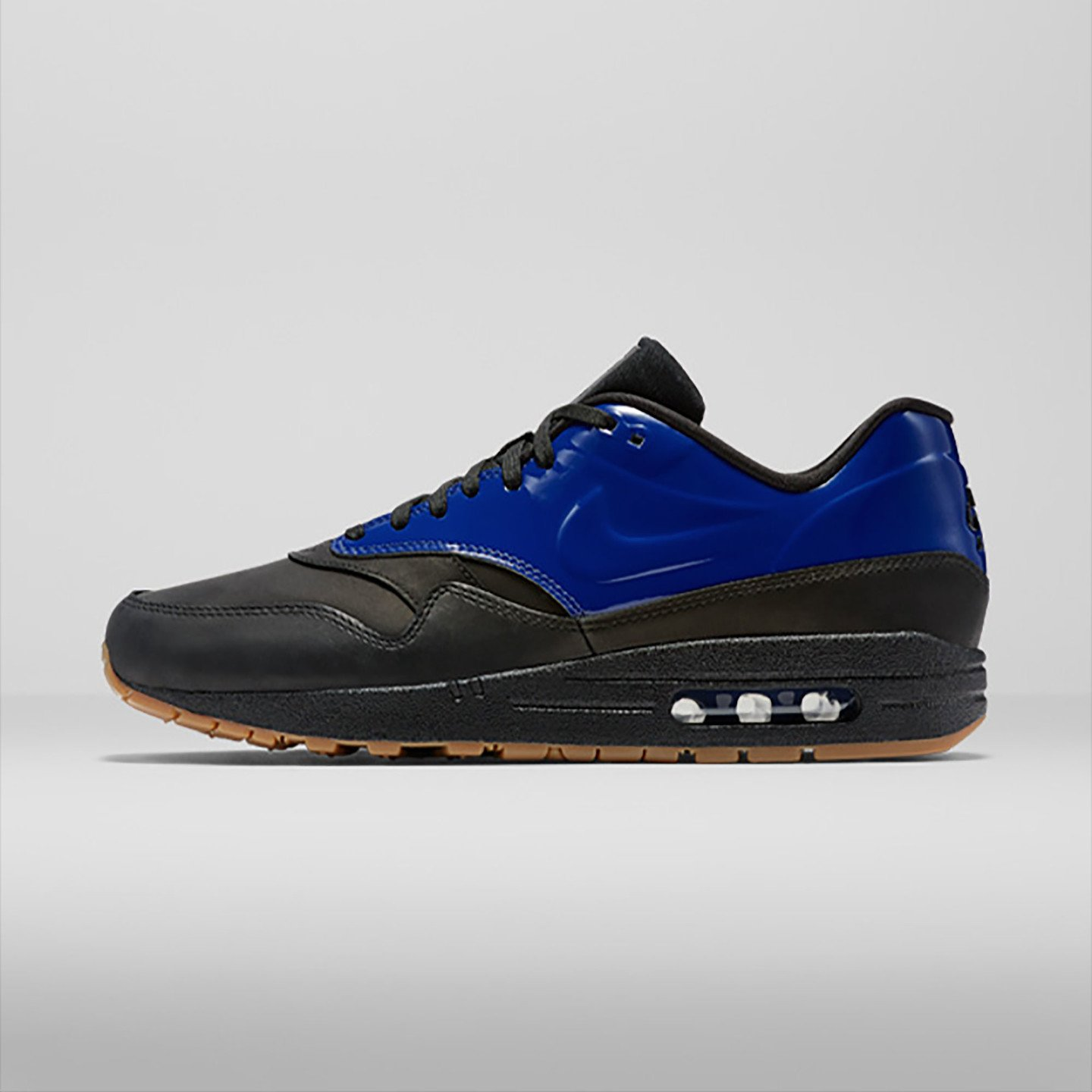 Nike Air Max 1 Vac Tech QS Deep Royal Blue / Black 831113-400-42